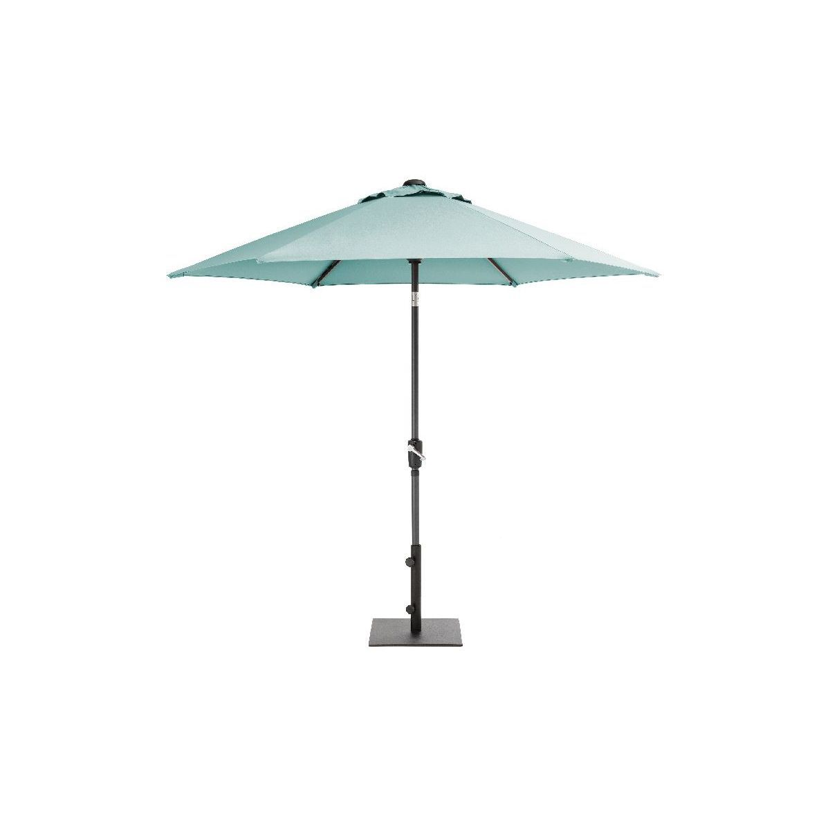 2 5M Wind Up Parasol Aqua 2018