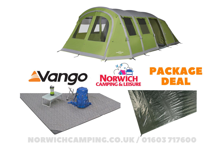 Vango Stargrove Ii 600Xl Tent Package Deal