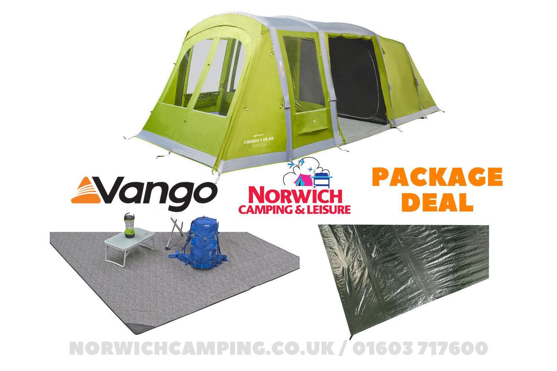 Vango Stargrove 450Xl Tent Package Deal