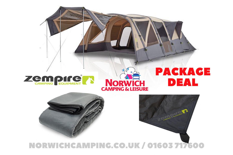 Zempire Aero Txl Pro Tc Air Tent 8 Berth Package Deal