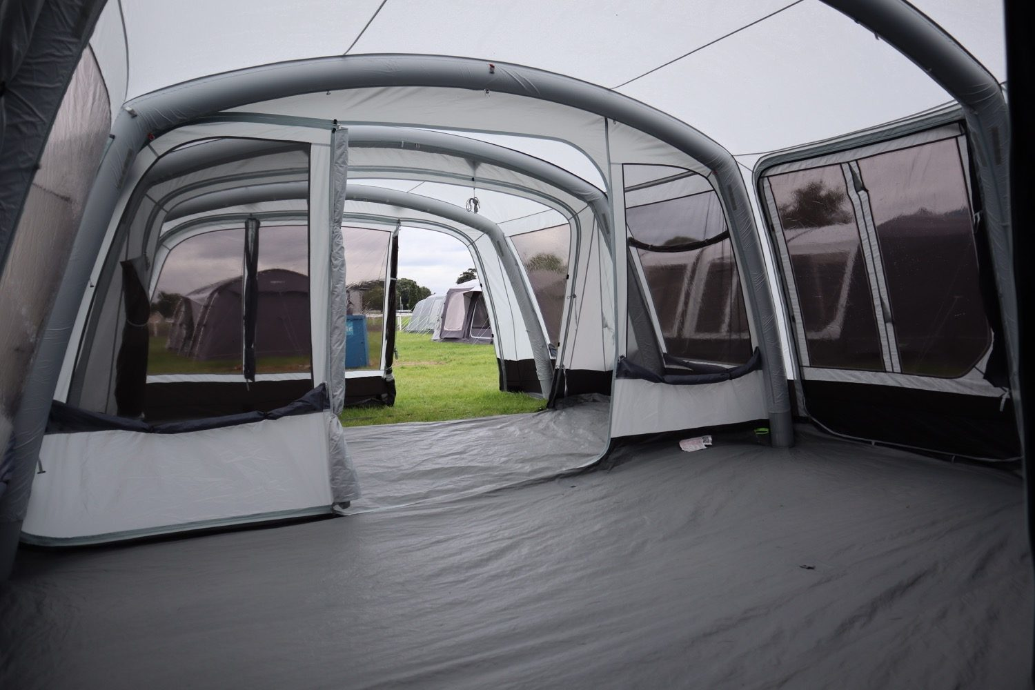 Outdoor Revolution Airedale 9Se With Porch Extension Norwich Camping9