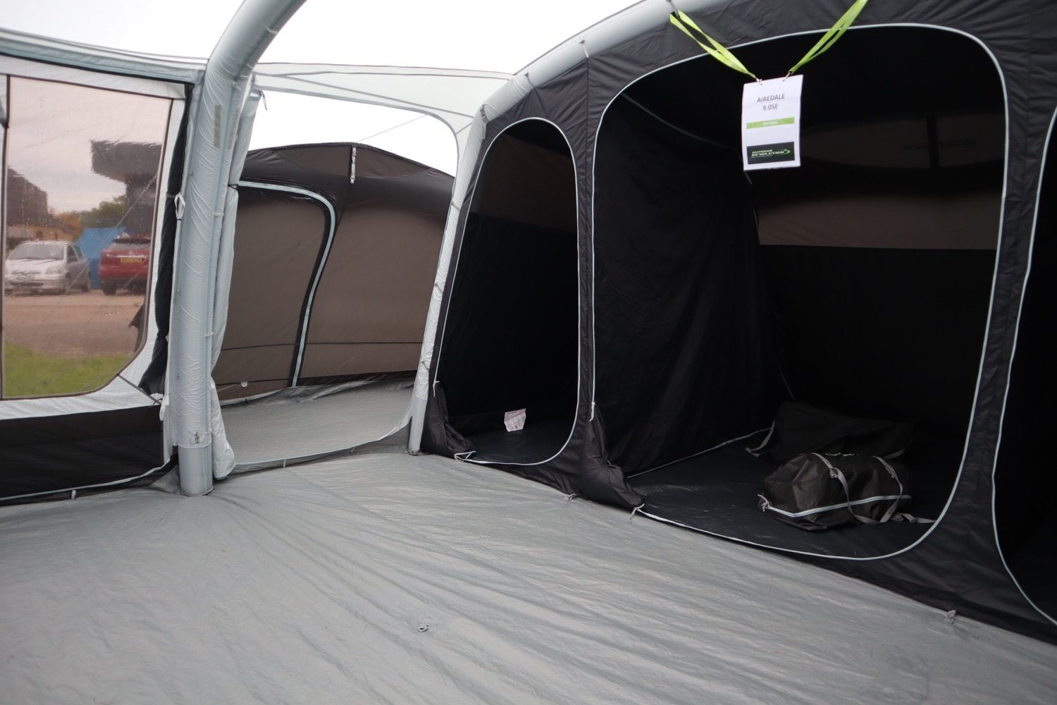 Outdoor Revolution Airedale 9Se With Porch Extension Norwich Camping6
