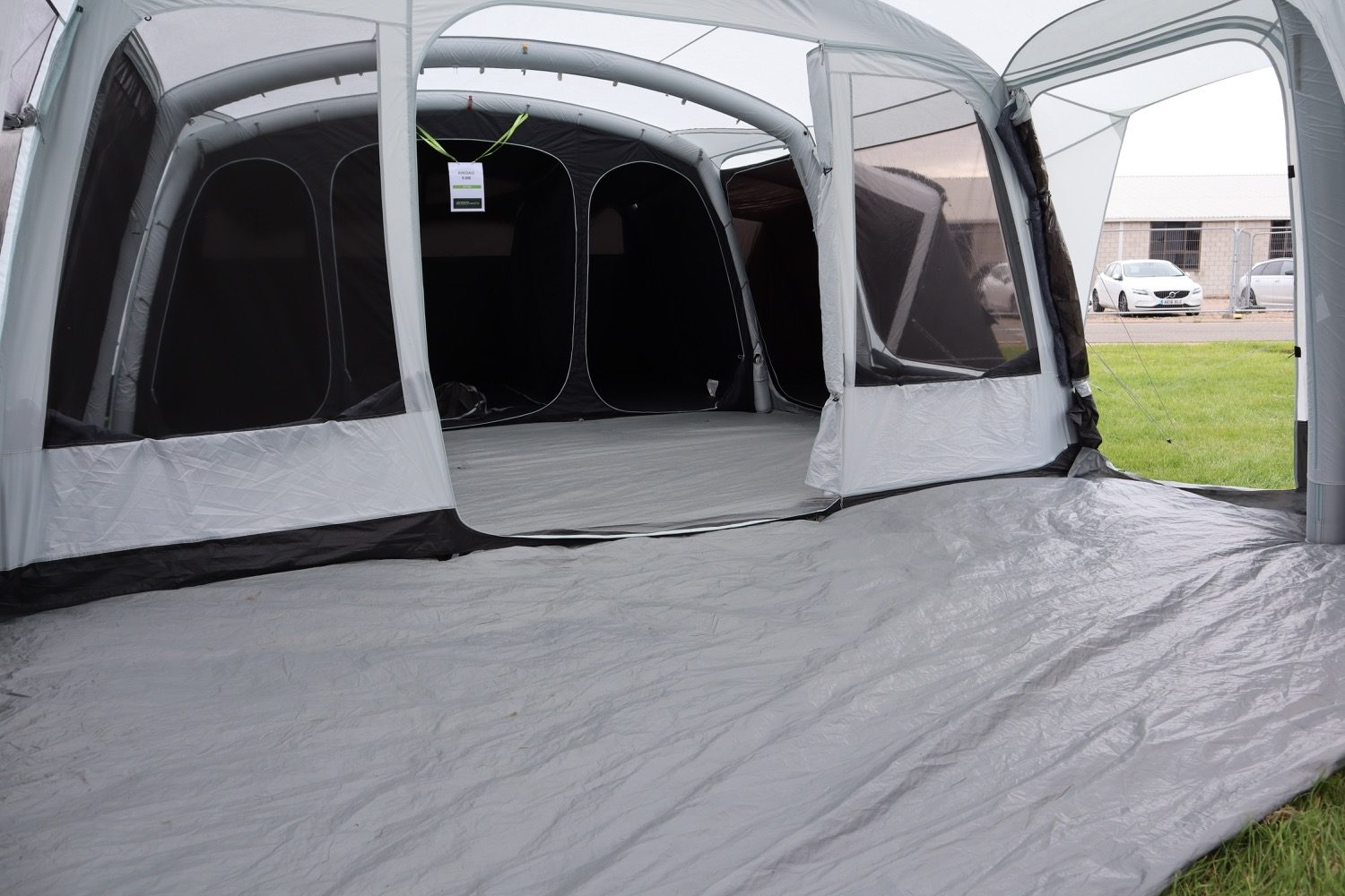 Outdoor Revolution Airedale 9Se With Porch Extension Norwich Camping3