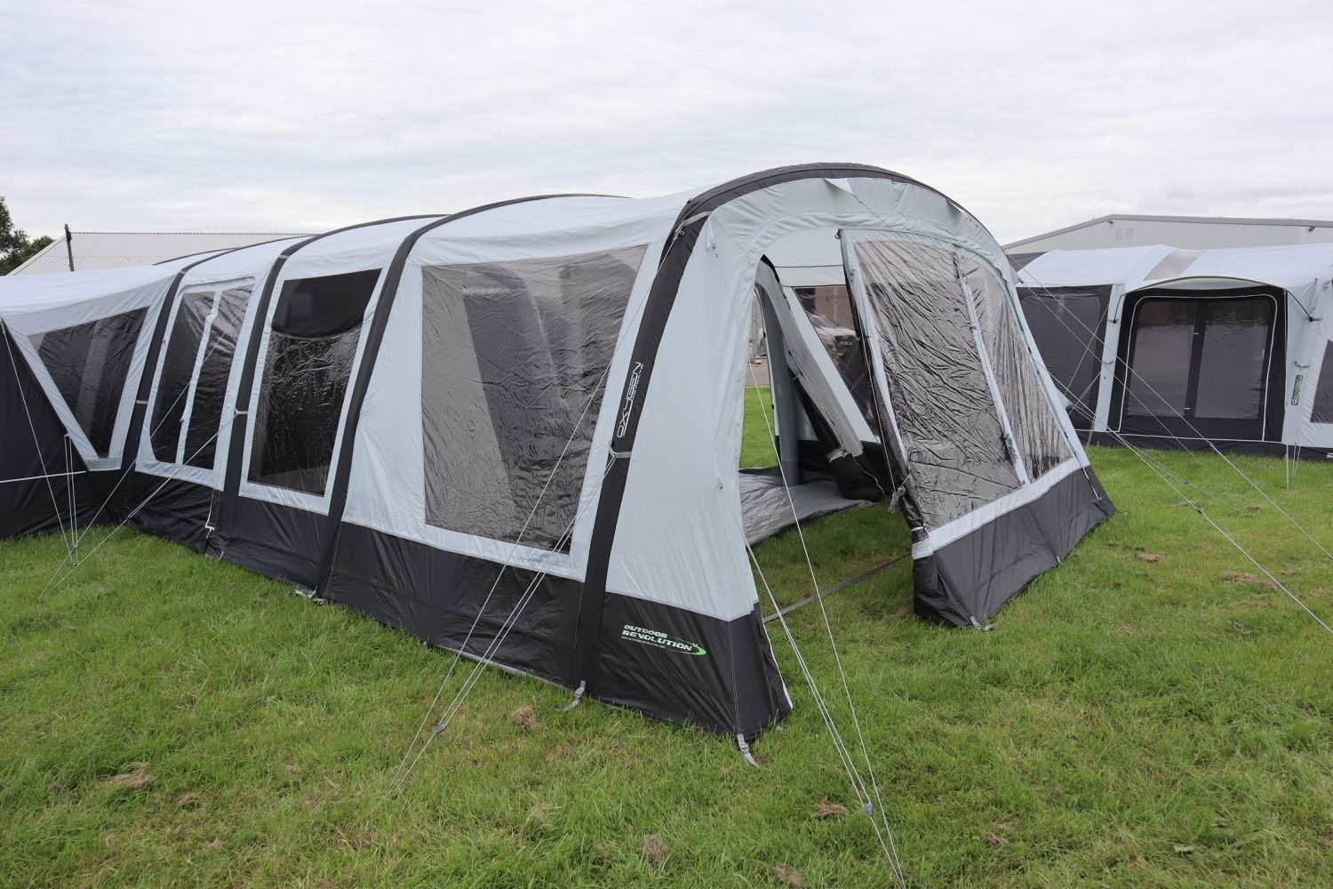 Outdoor Revolution Airedale 9Se With Porch Extension Norwich Camping2
