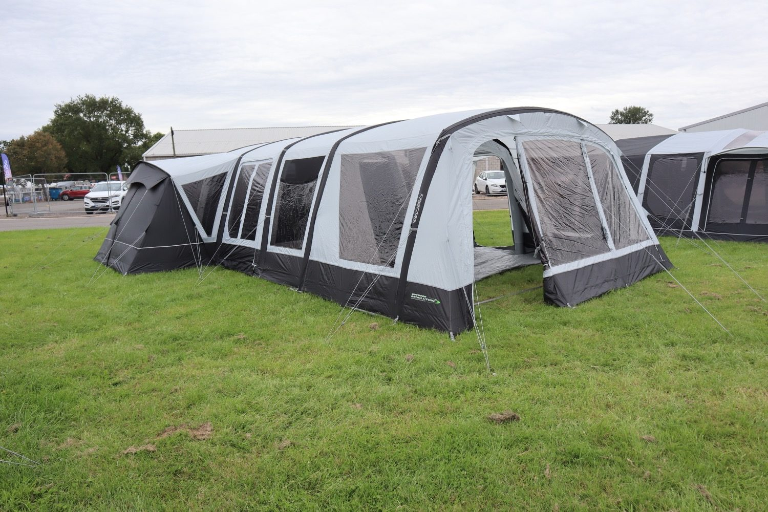 Outdoor Revolution Airedale 9Se With Porch Extension Norwich Camping1