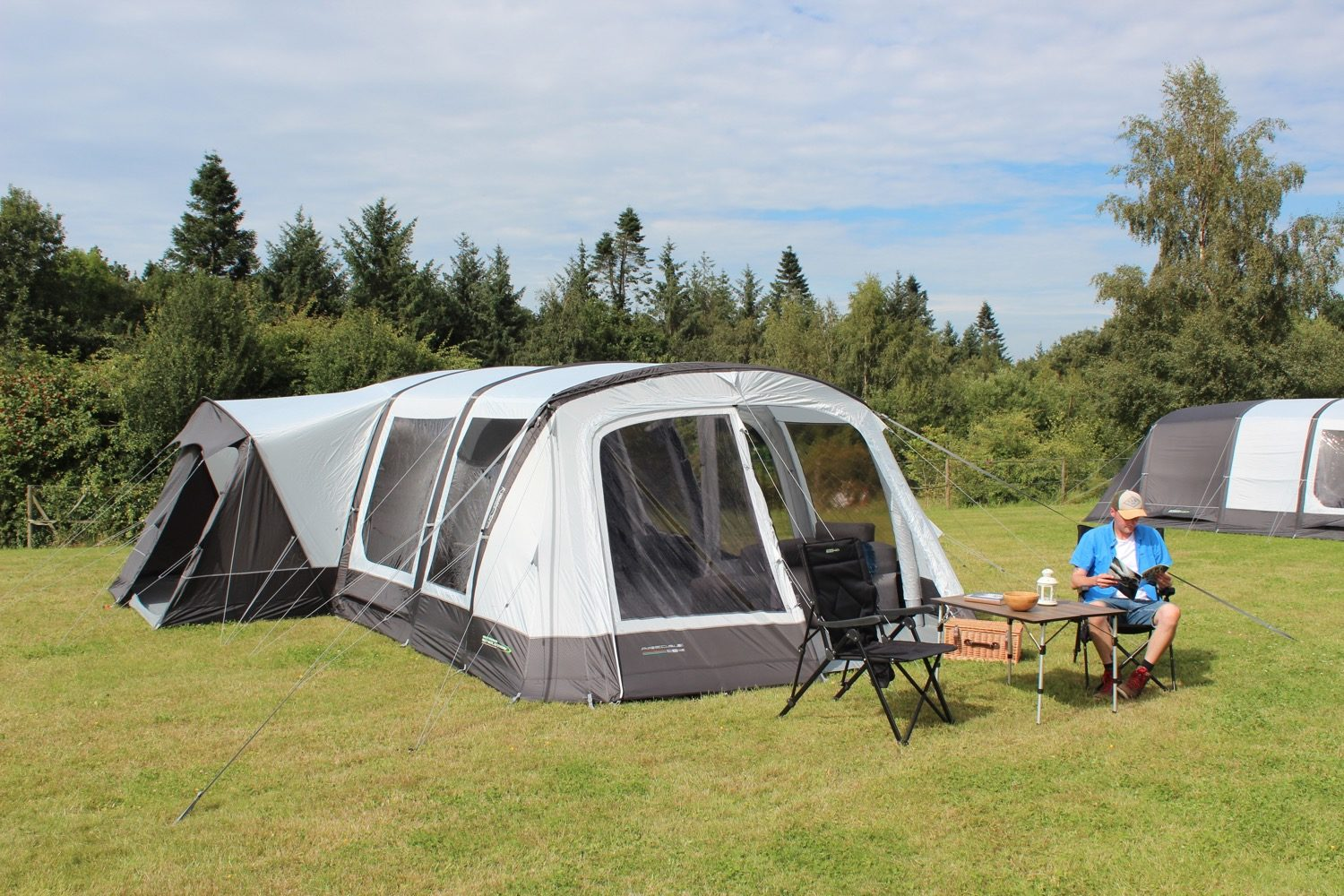 Outdoor Revolution Airedale 6Se Tent 2021 Norwich Camping3