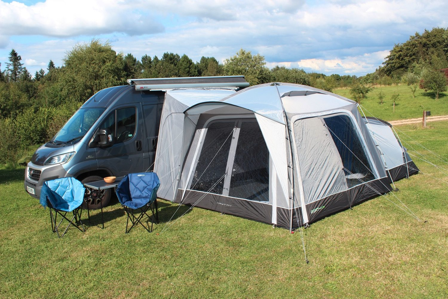 Outdoor Revolution Cayman Poled Awning 2021 Norwich Camping 1