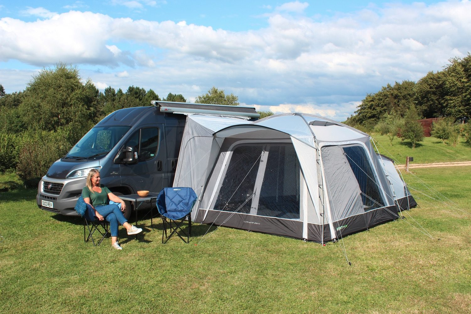 Outdoor Revolution Cayman Poled Awning 2021 Norwich Camping 9