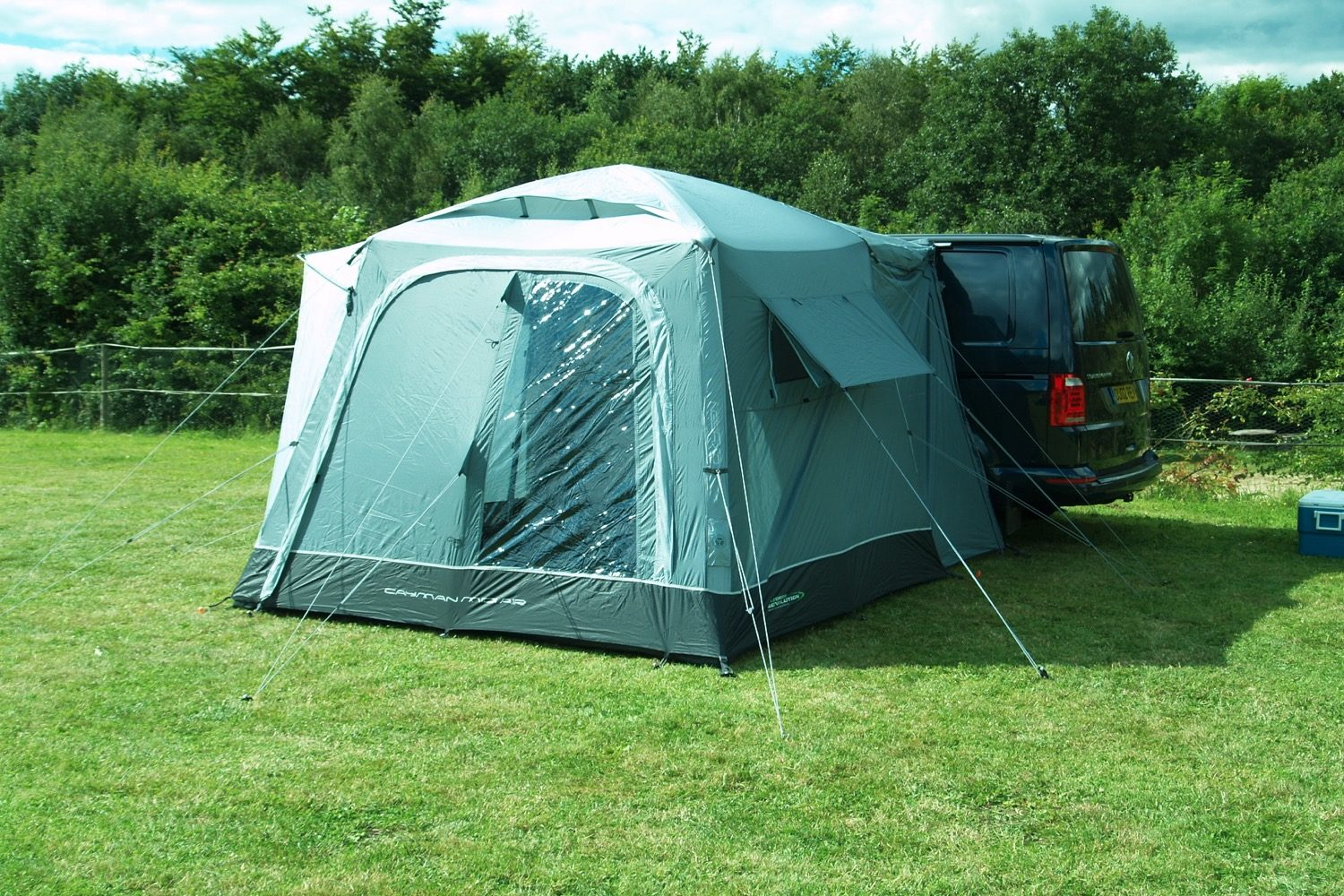 Outdoor Revolution Cayman Midi Air Driveaway Awning 2021 Norwich Camping3