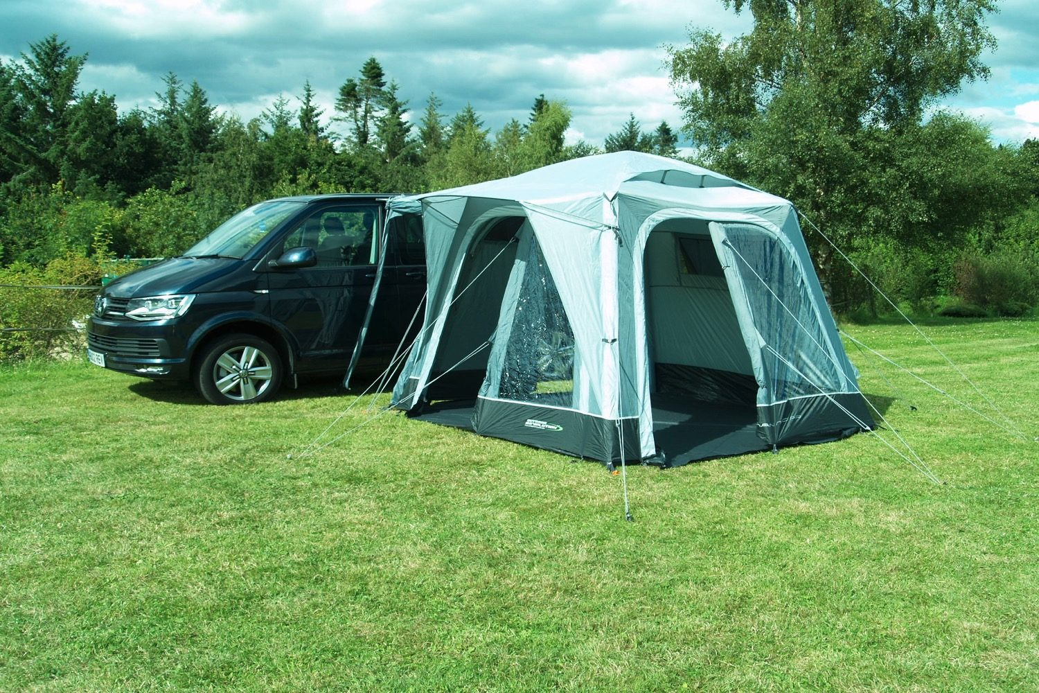 Outdoor Revolution Cayman Midi Air Driveaway Awning 2021 Norwich Camping4