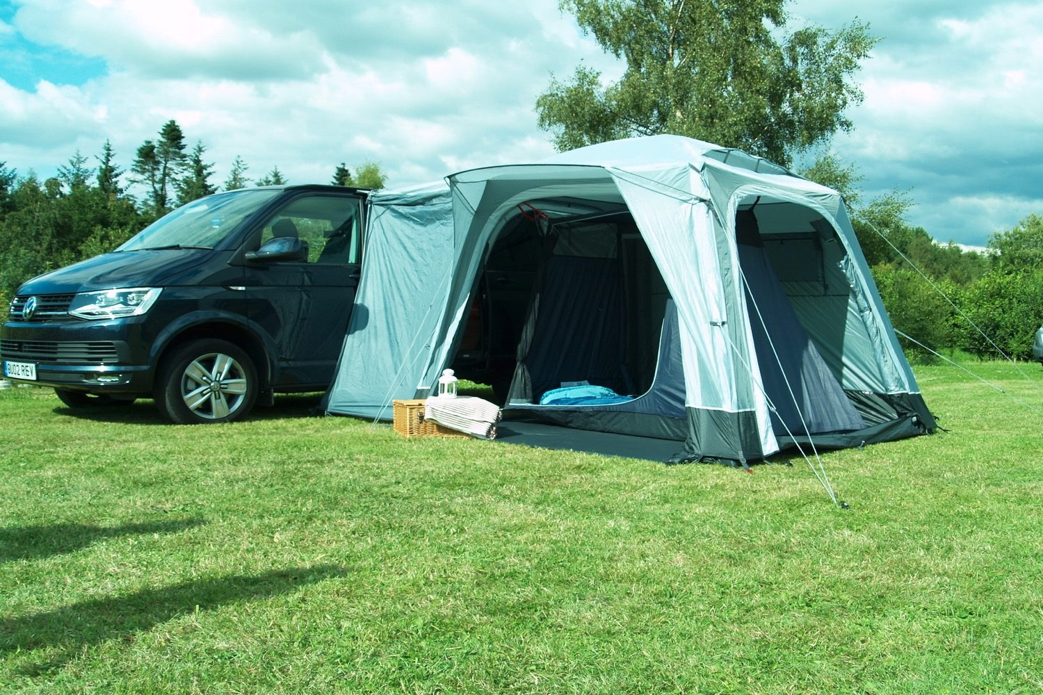 Outdoor Revolution Cayman Midi Air Driveaway Awning 2021 Norwich Camping25