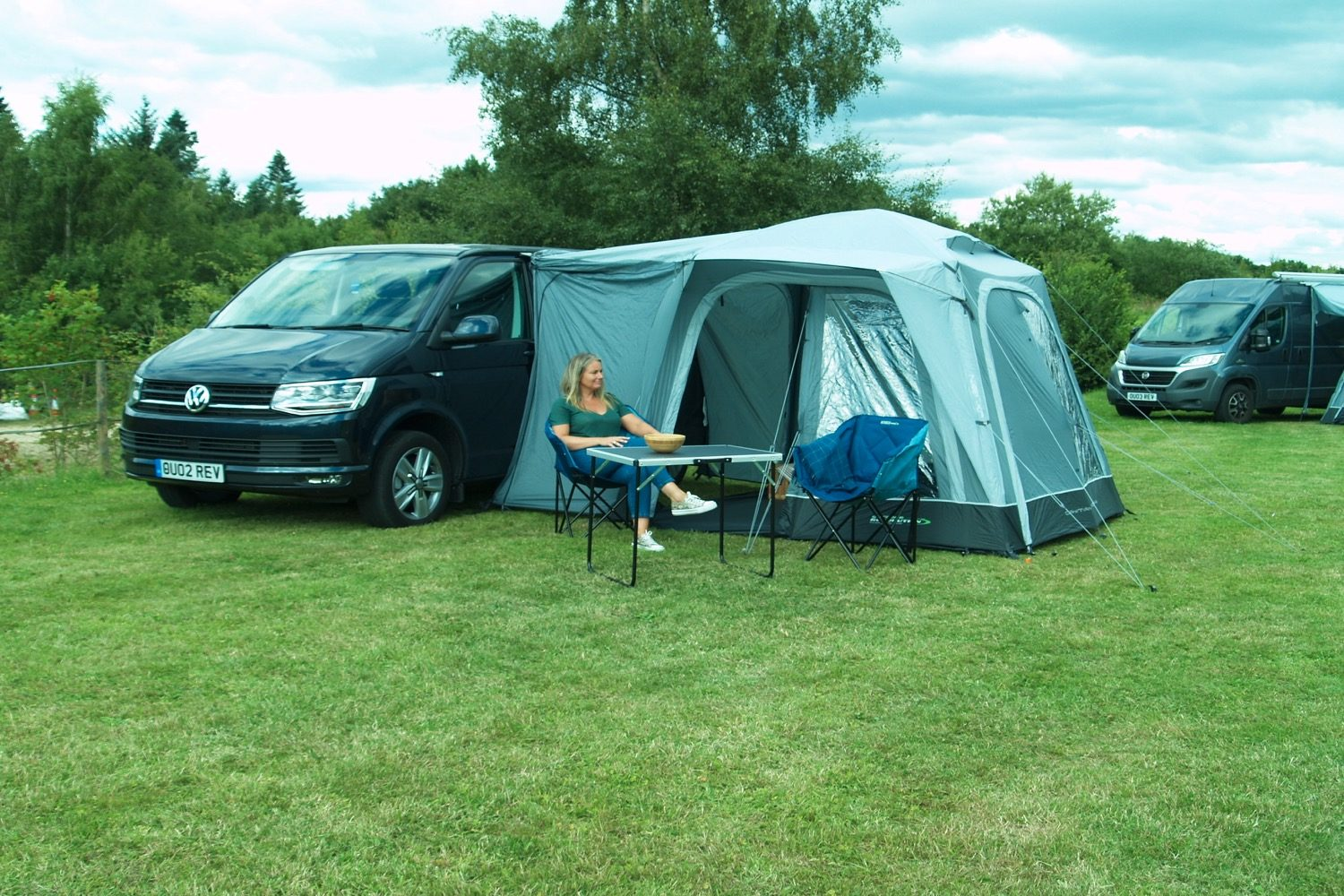 Outdoor Revolution Cayman Midi Air Driveaway Awning 2021 Norwich Camping22