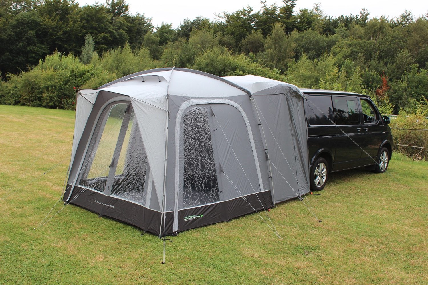 Outdoor Revolution Cayman Tail Poled Awning 2021 Norwich Camping 8
