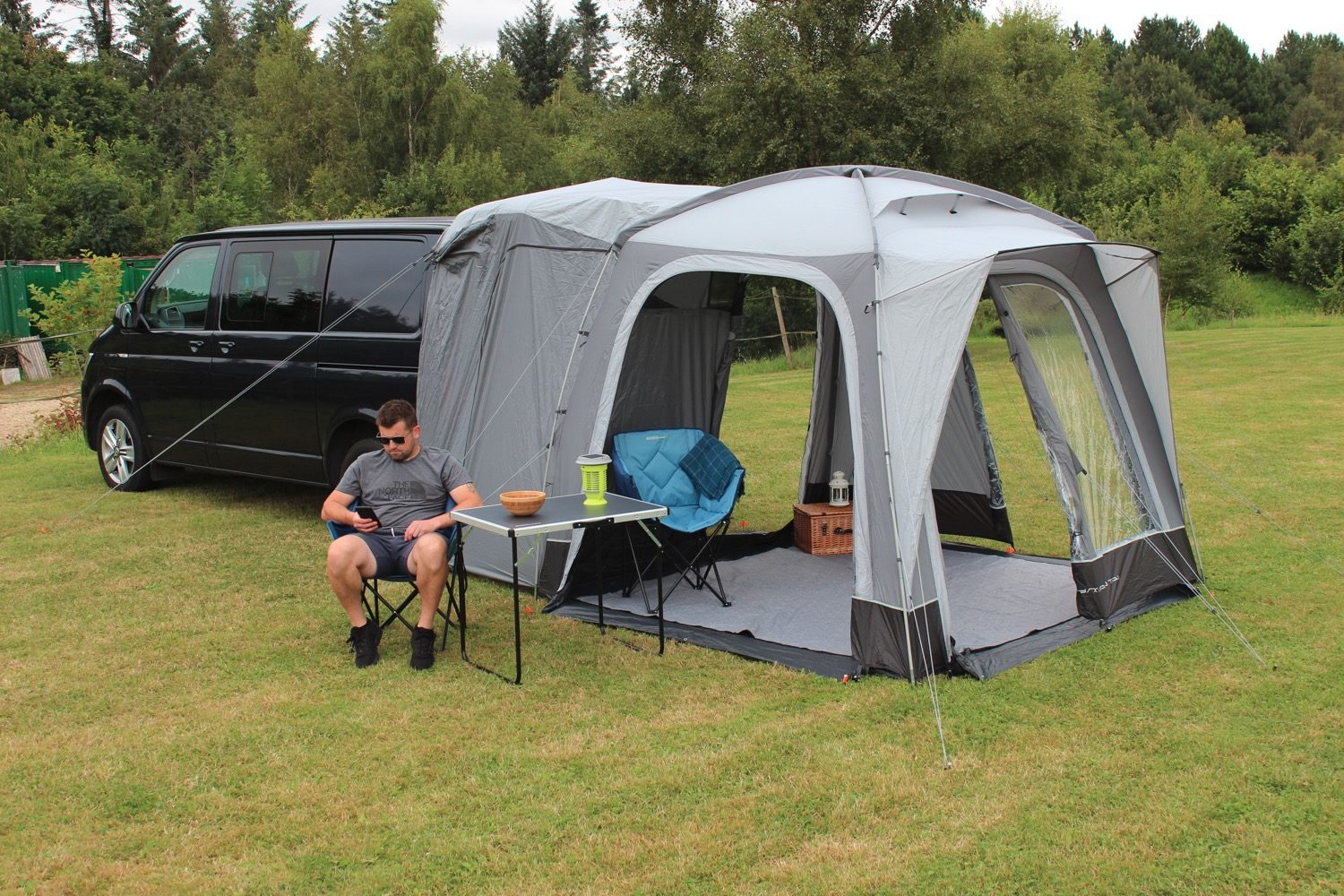 Outdoor Revolution Cayman Tail Poled Awning 2021 Norwich Camping 30