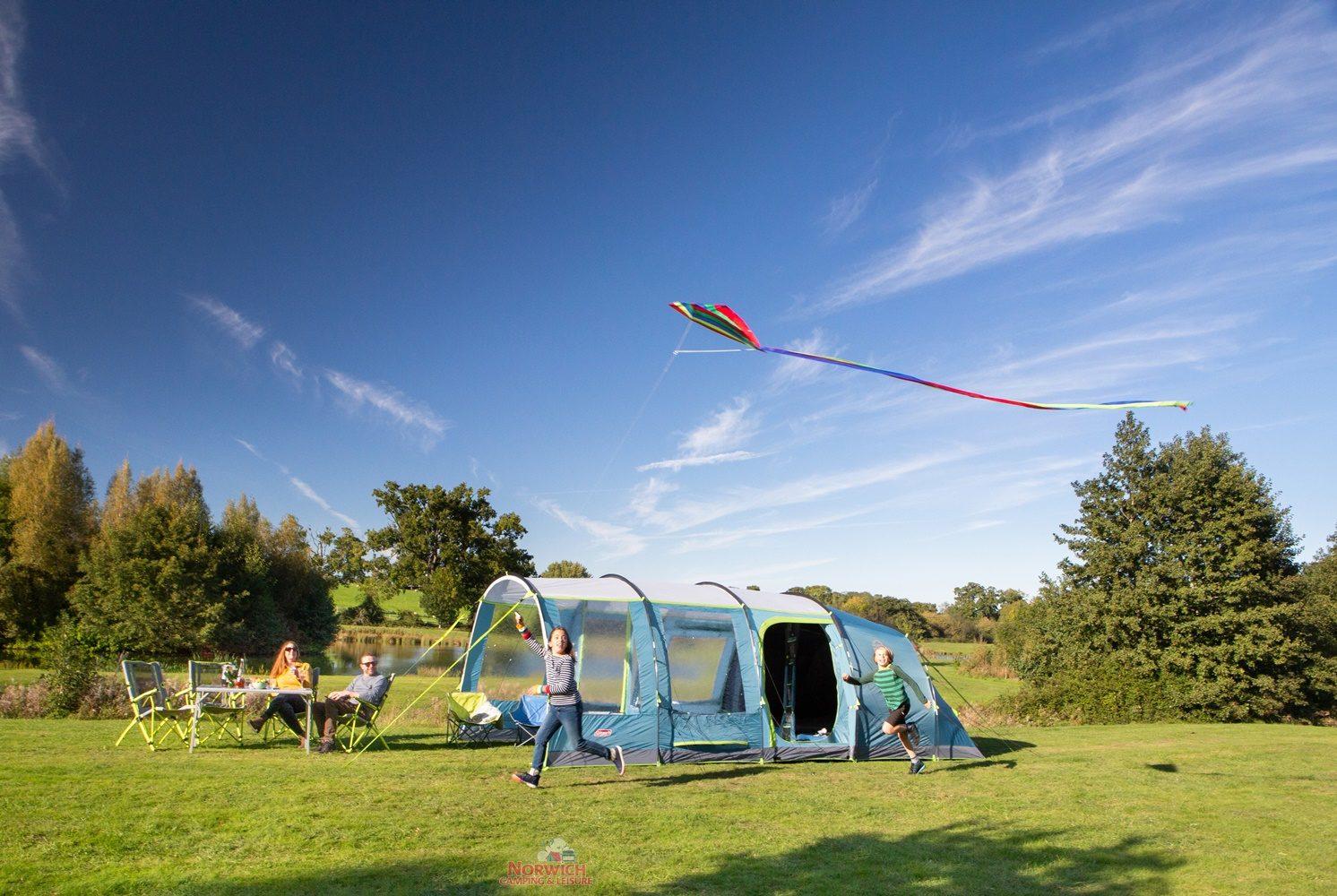 Coleman Castle Pines 4L Norwich Camping5