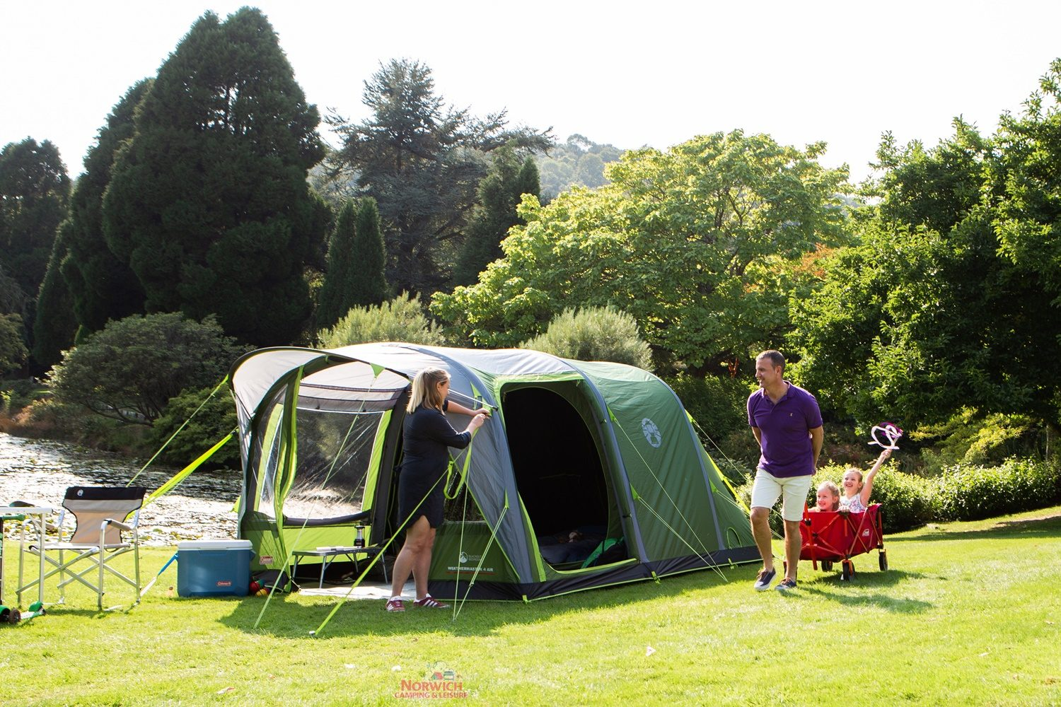 Coleman Weathermaster 4 Air Norwich Camping Leisure 3