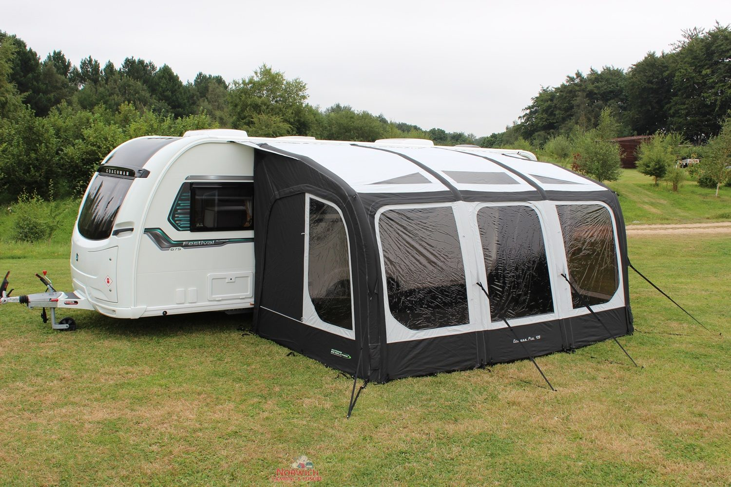 Outdoor Revolution Eclipse 420 Awning Norwich Camping 2
