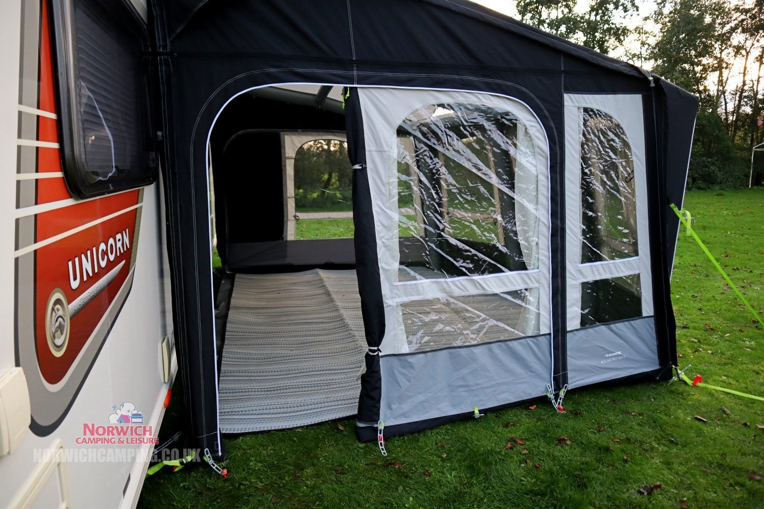 Dometic Ace Air Pro 400 Awning 2021 Norwichcampingimg 1407