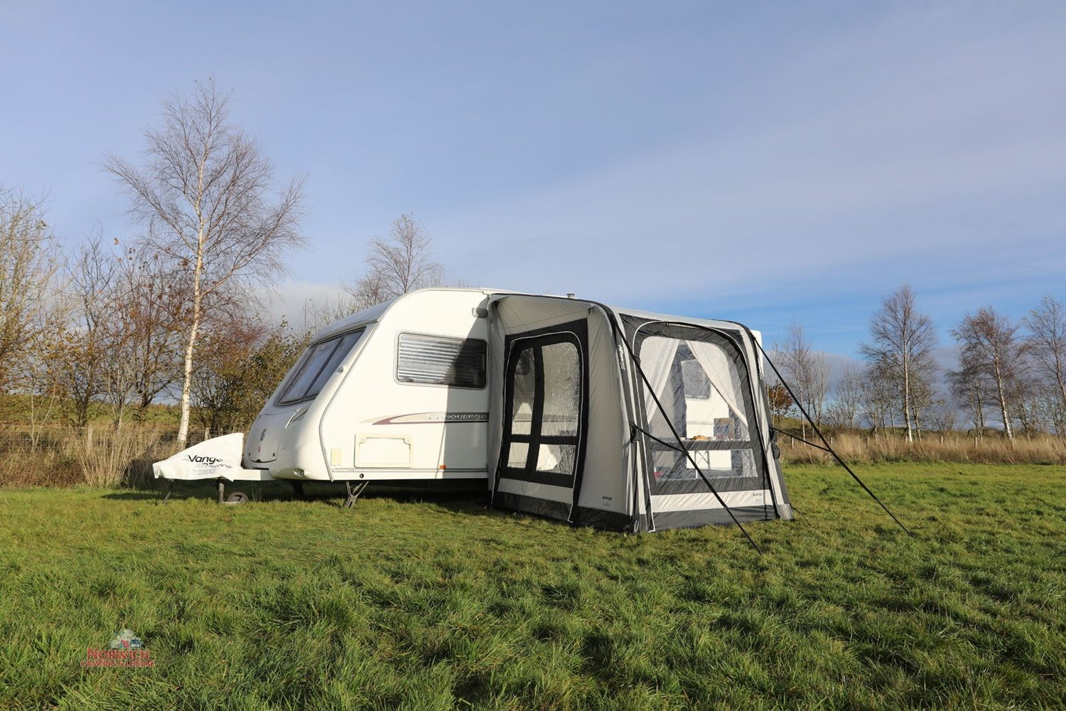 Vango Balletto 200 Airbeam Awning Norwichcamping Co Uk16