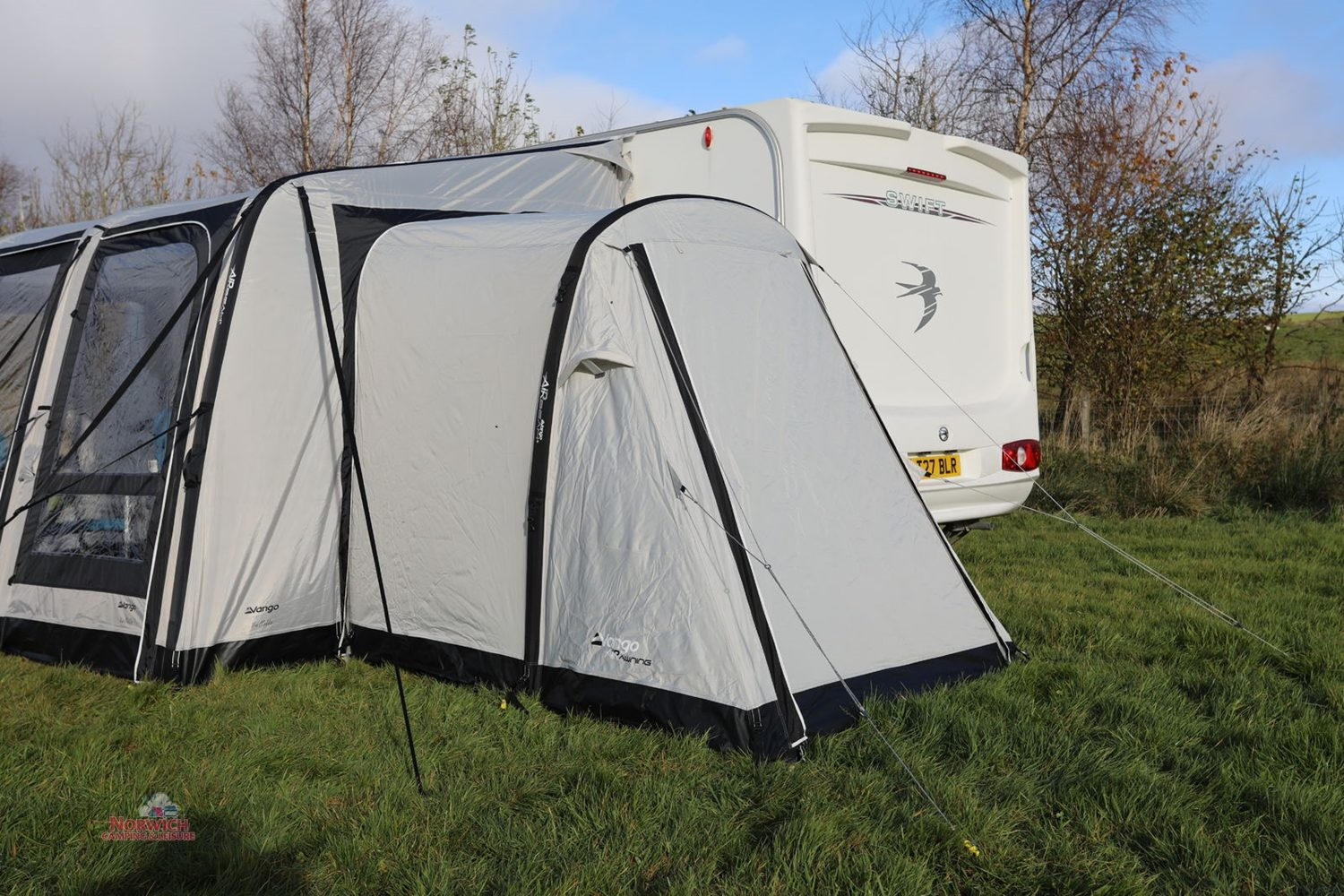 Vango Balletto 400 Air Awning Annexe Norwichcamping 8