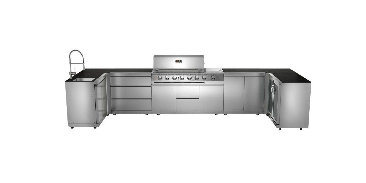 Cirencester Modular Kitchen 90 Deg