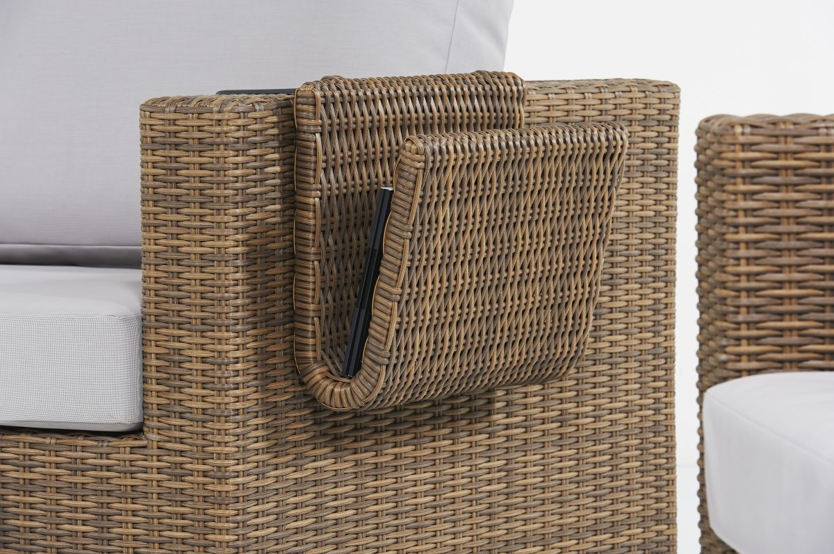 Life Outdoor Living Maui Newspaper Basket