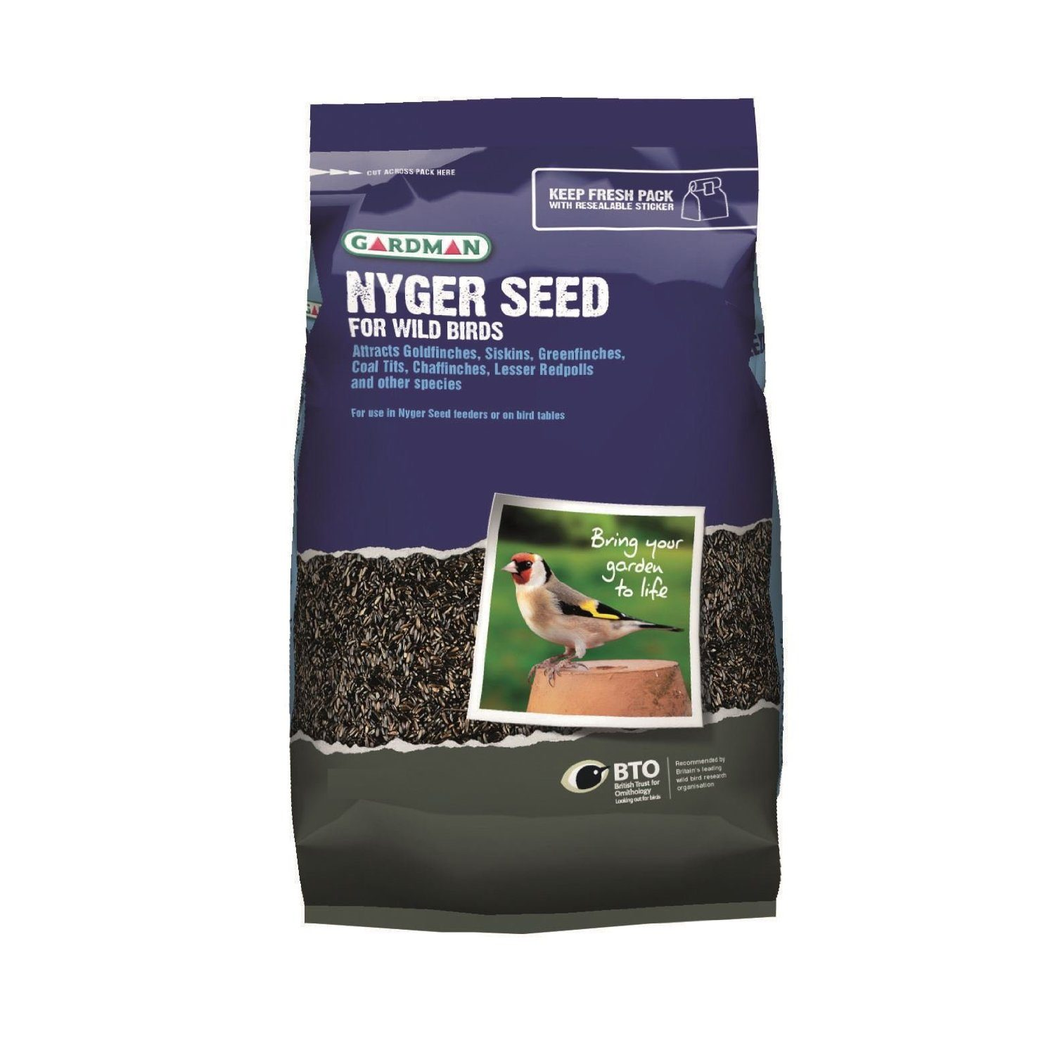 Nyger Seed, Sizes: 0.9kg (A06440)