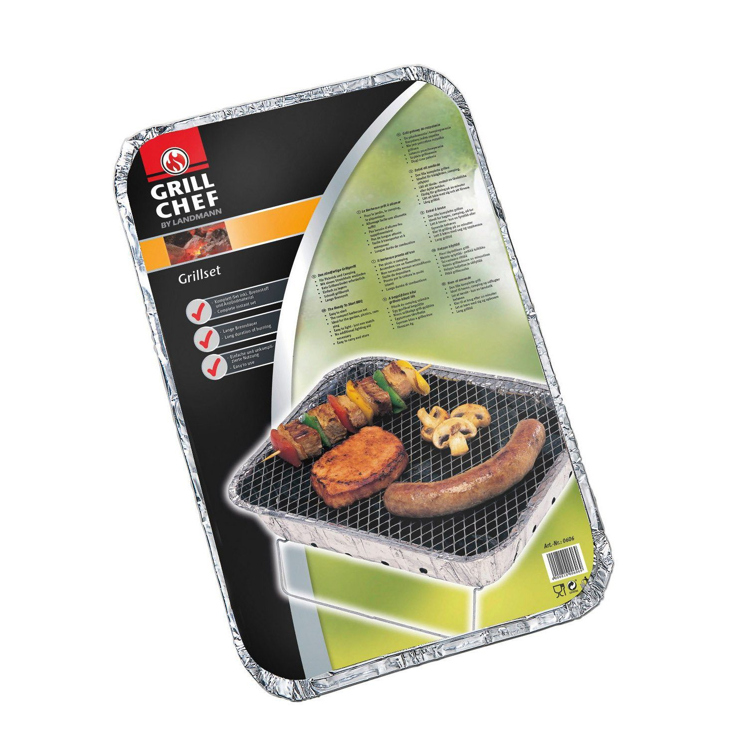 Landmann Party Disposable Charcoal Barbecue - 060602
