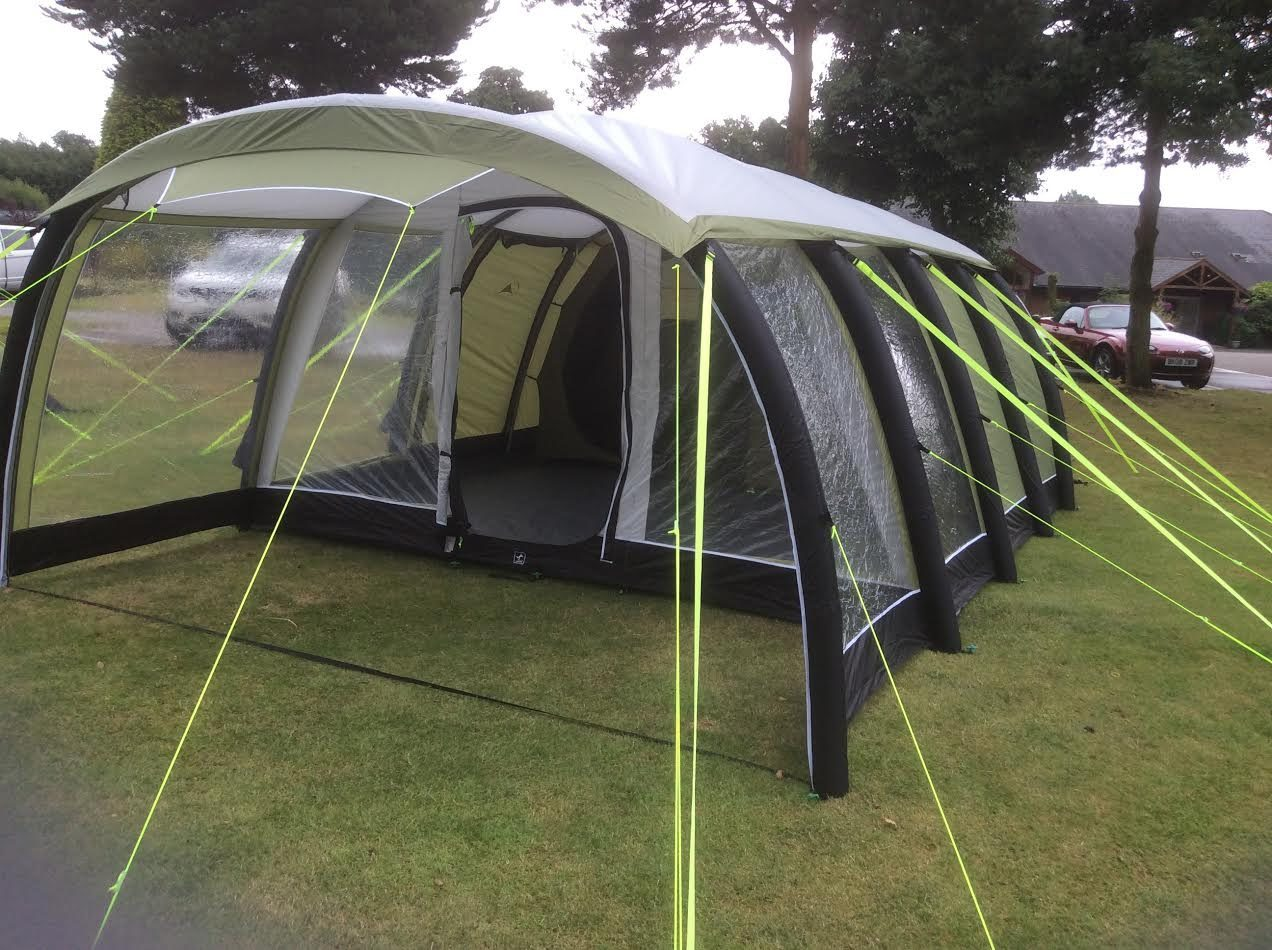 Sunncamp Invadair Deluxe 600 tent 2017