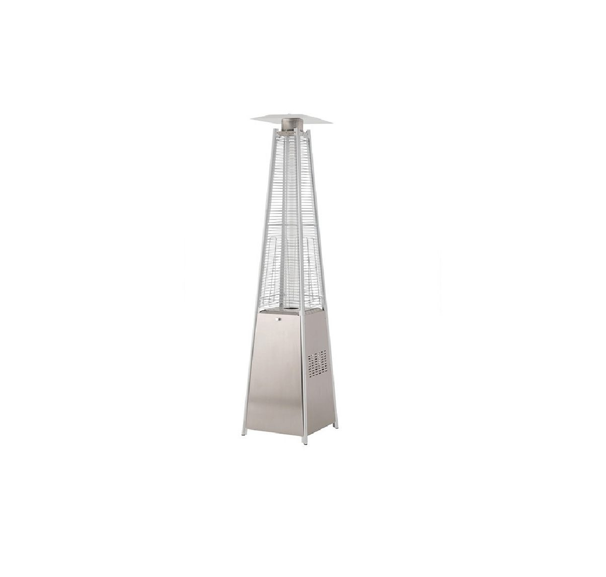 Lifestyle Tahiti Stainless Steel patio heater