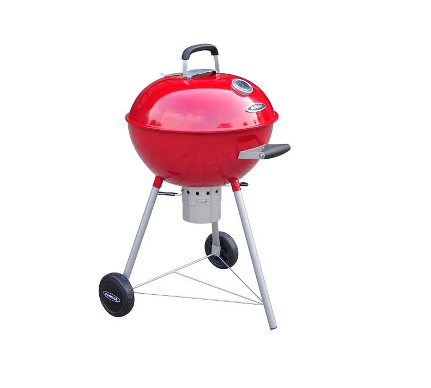 Outback Charcoal Kettle Red