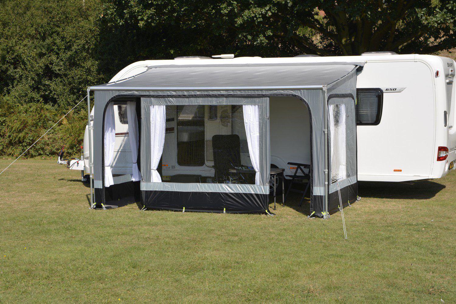 Roll Out Awning Privacy Room 450 Kampa Revo Zip 1