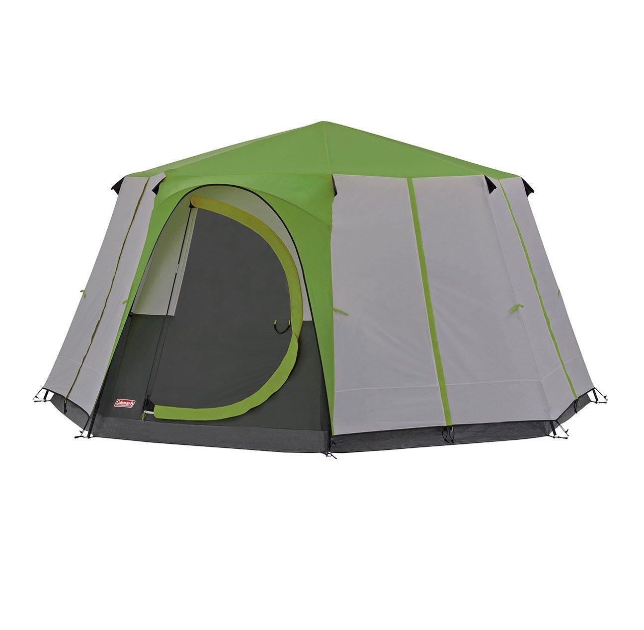 Coleman Octagon 8 tent green