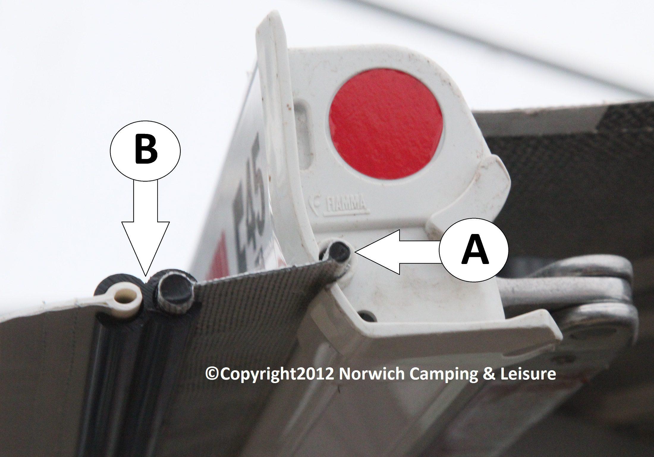 Drive Away Fixing Kit - XL (Fiamma/Omnistor 6mm/4mm)
