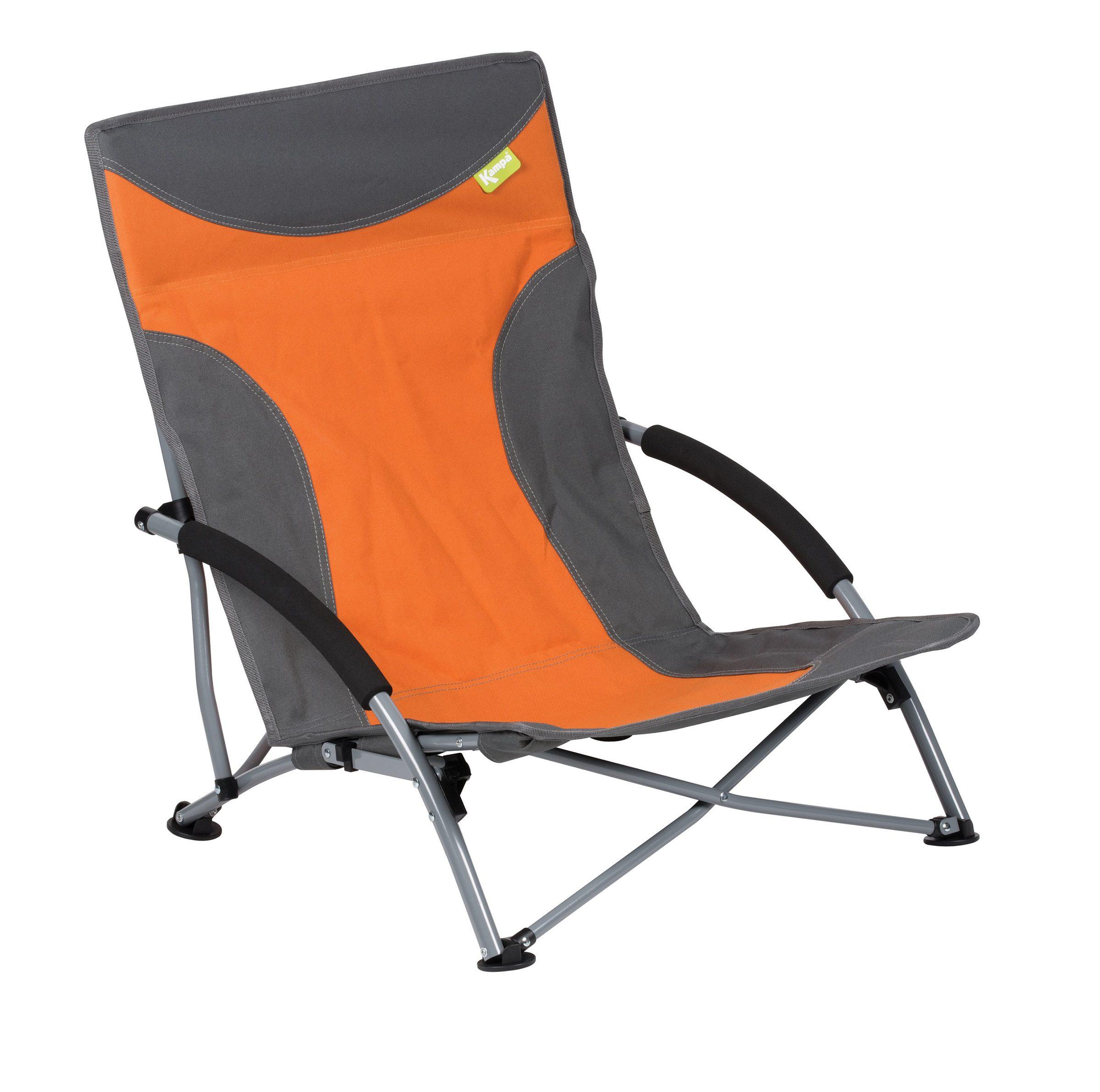 Kampa Sandy High Back Low Chair Burnt Orange - FT0047