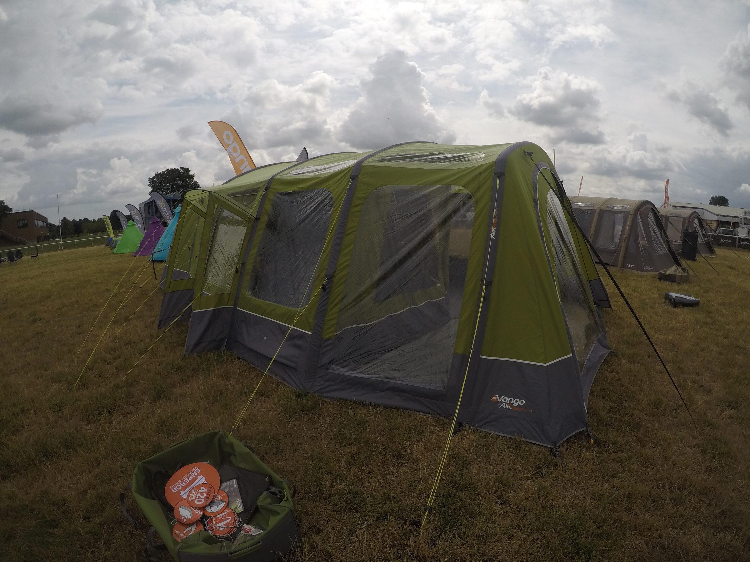 Vango Serenity Airbeam Tent 201811