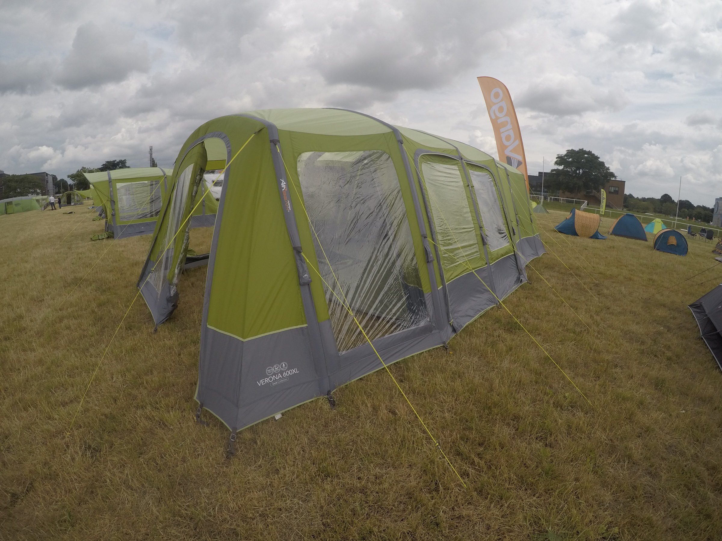 Vango Verona 600Xl Airbeam Tent 20181