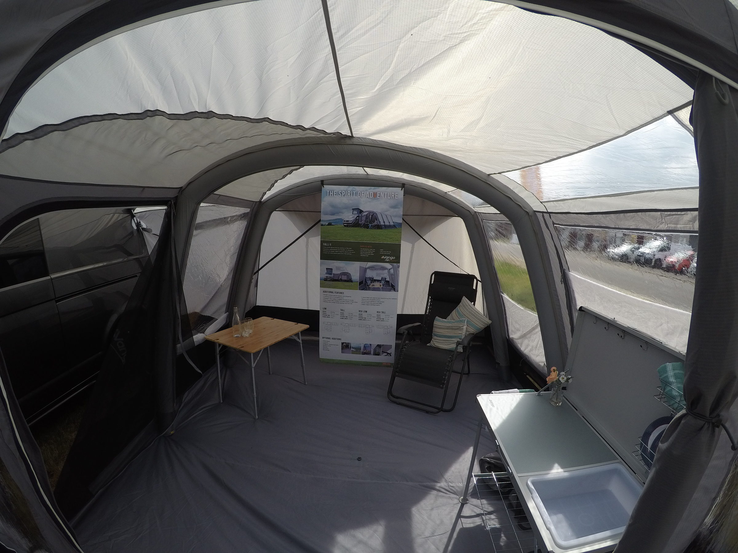 Vango Galli Ii Low Air Drive Away Awning 2018 Sale Norwich Camping