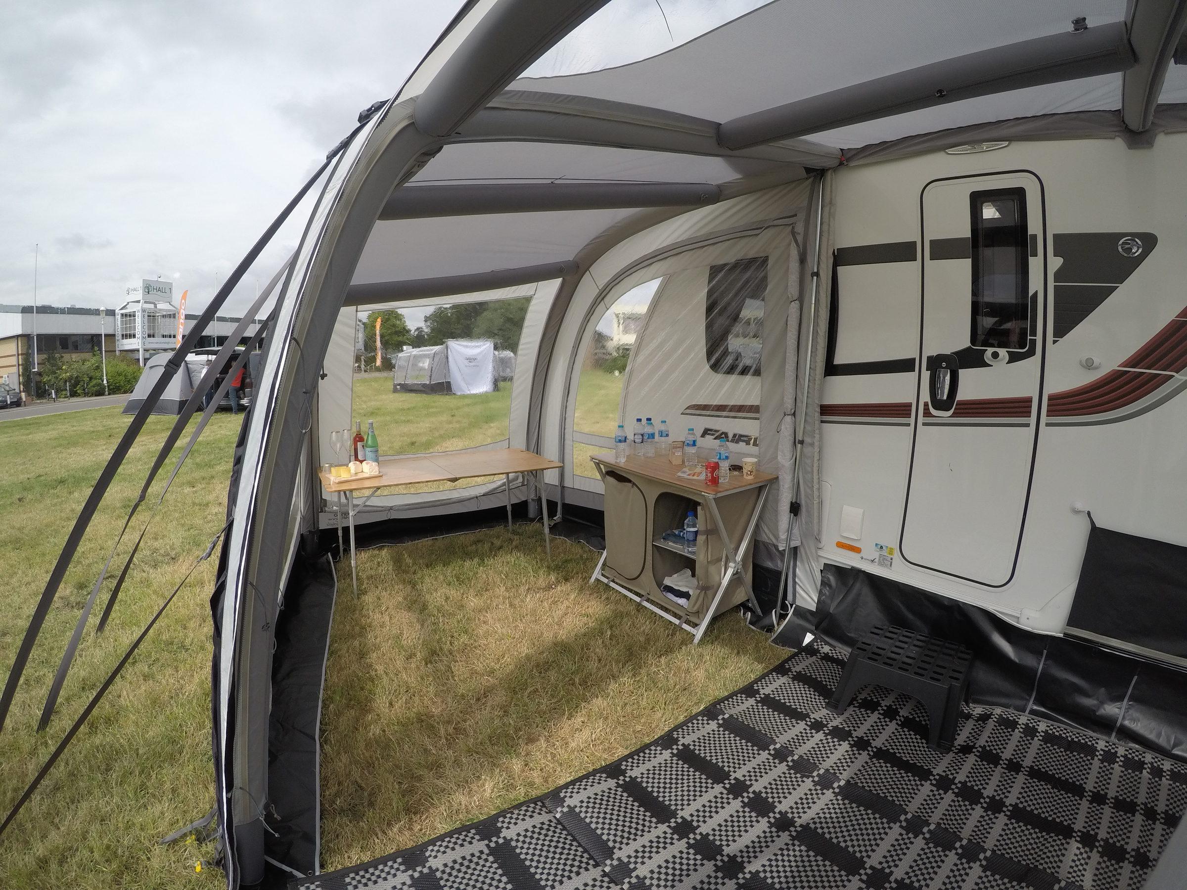 Vango Varkala Connect Extension Left 2019 Caravan