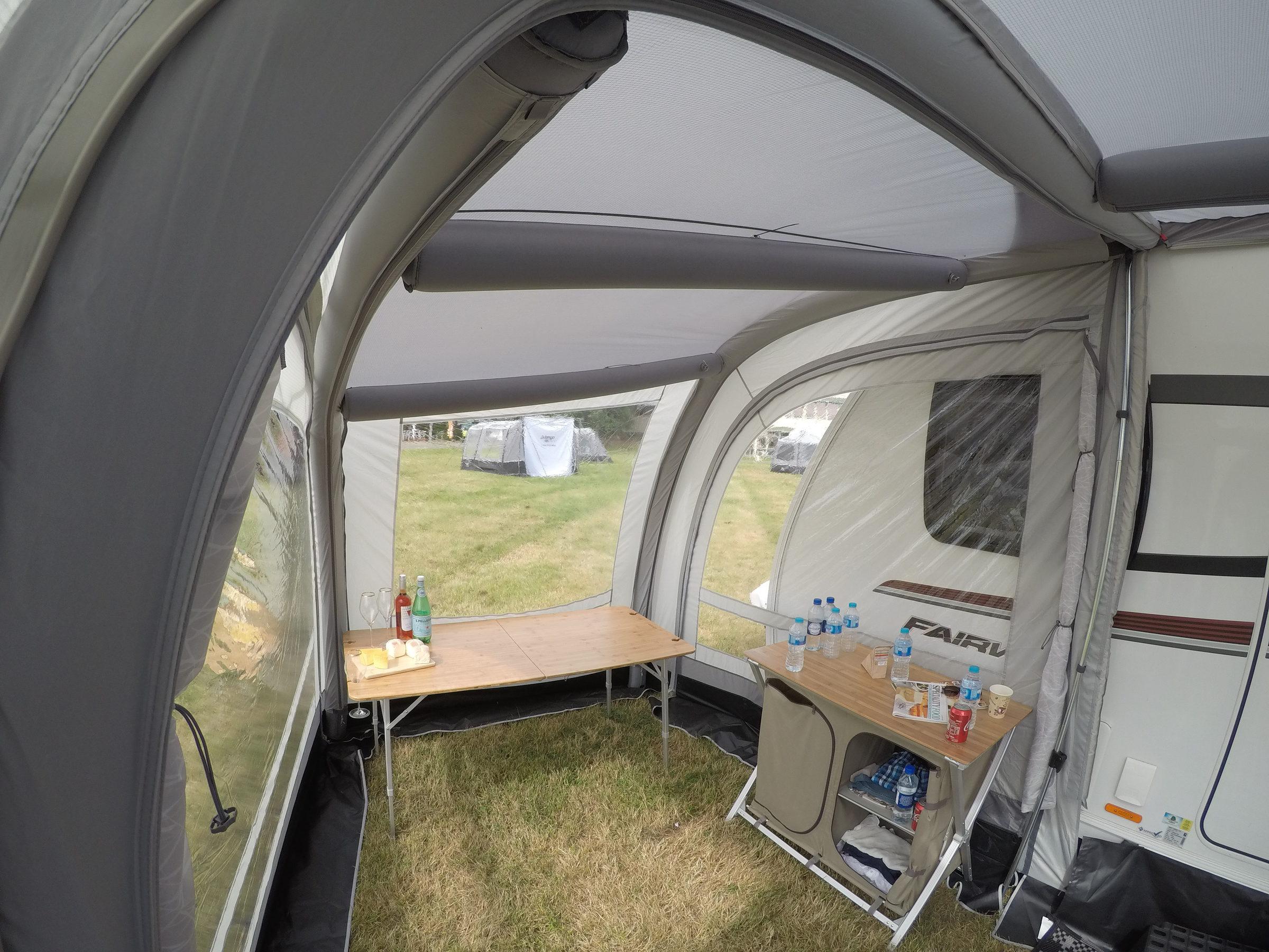 Vango Varkala Connect 420 Caravan Awning 20189