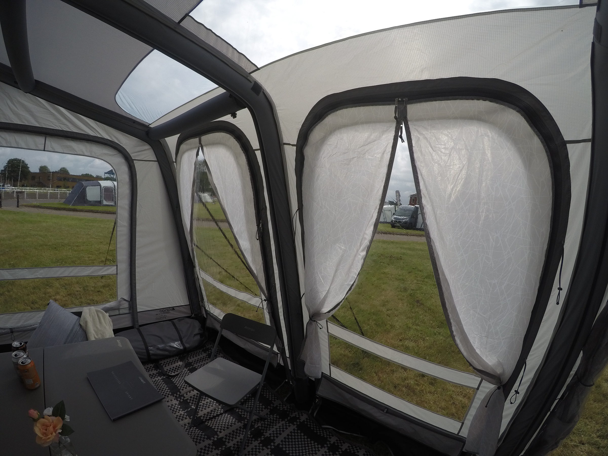 Vango Varkala Connect 420 Caravan Awning 201814