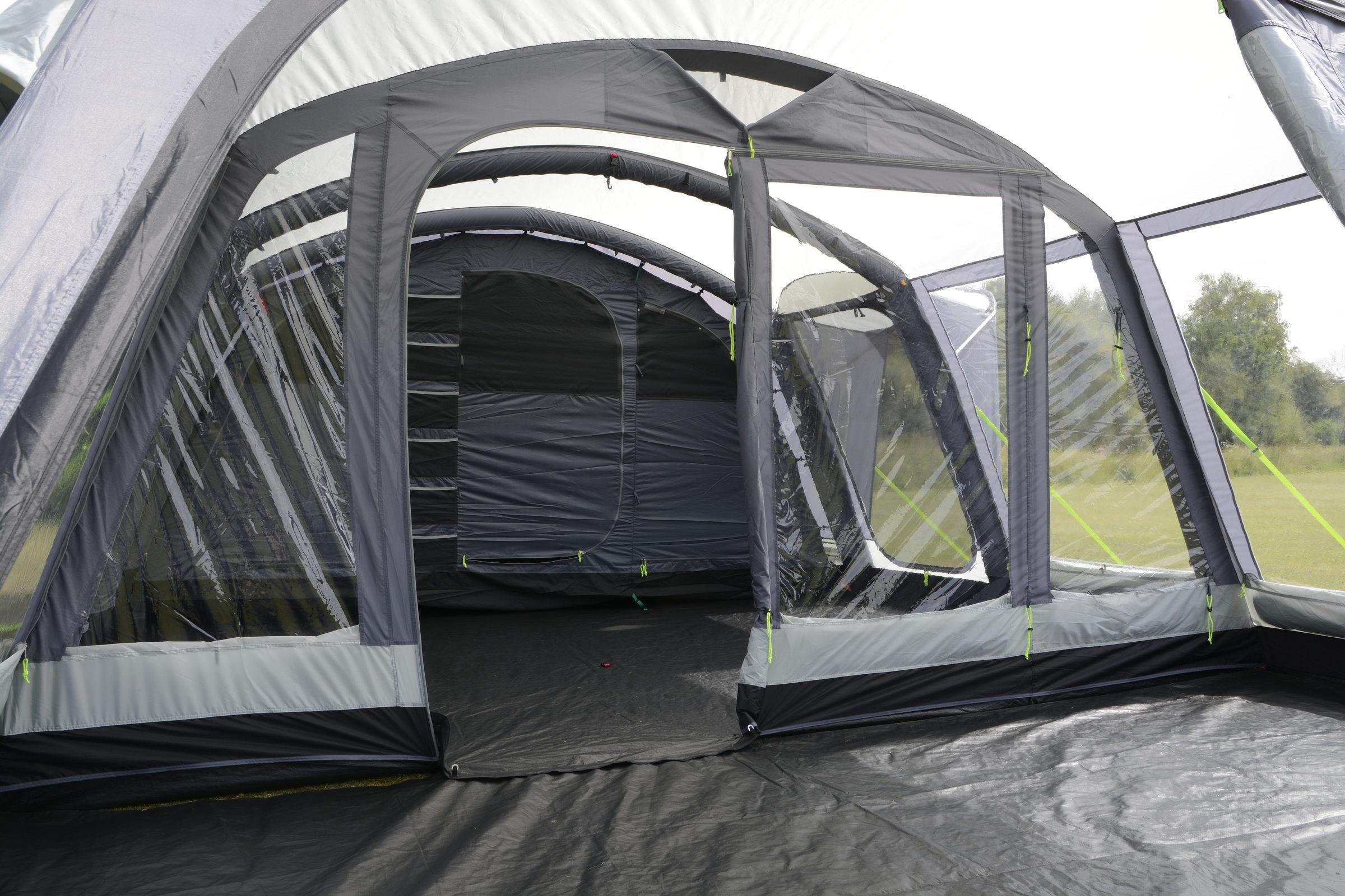 Kampa Croyde 6 Air Pro tent 2018 internal