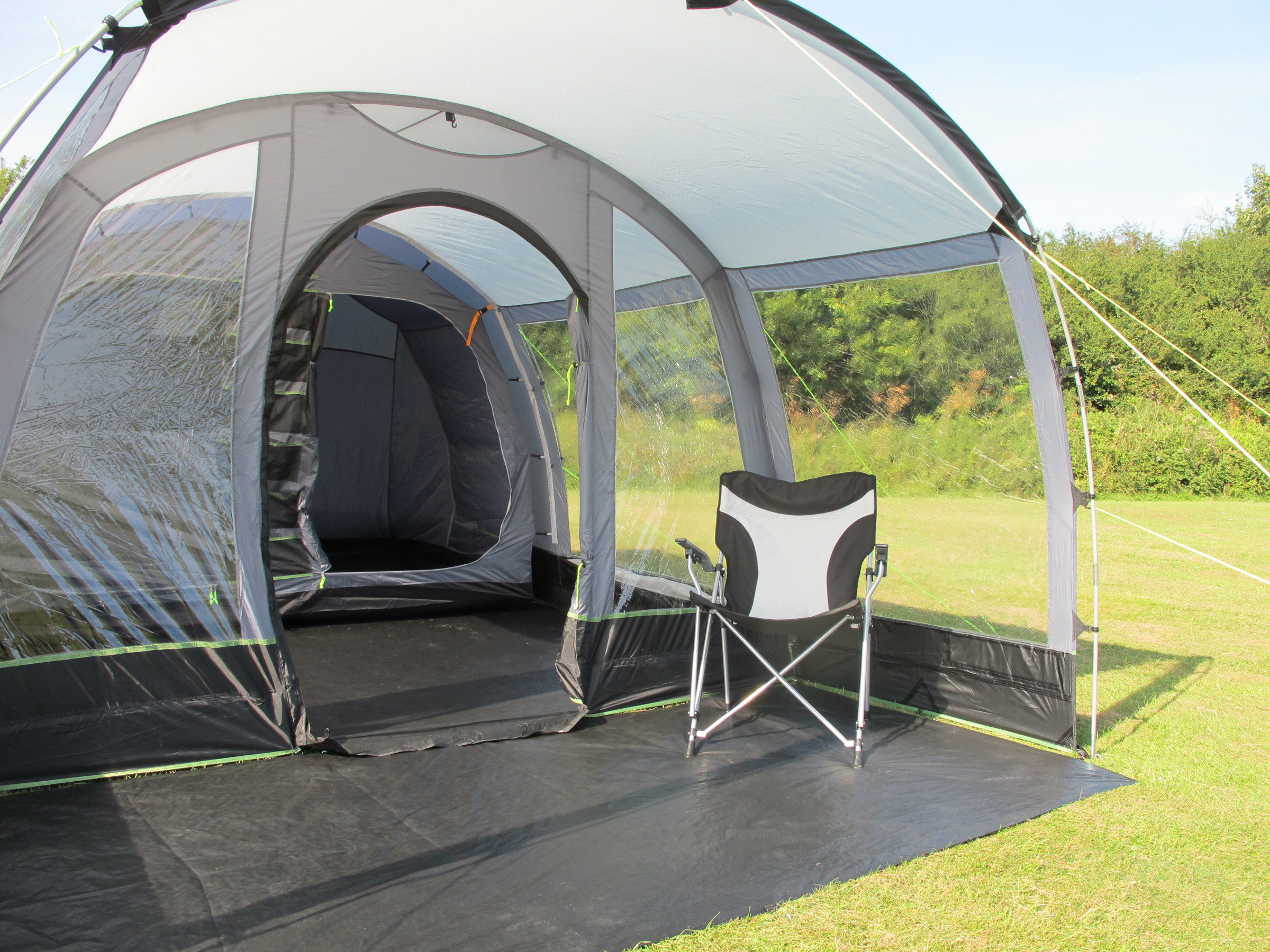 Kampa Hayling 4 Poled tent front 2018