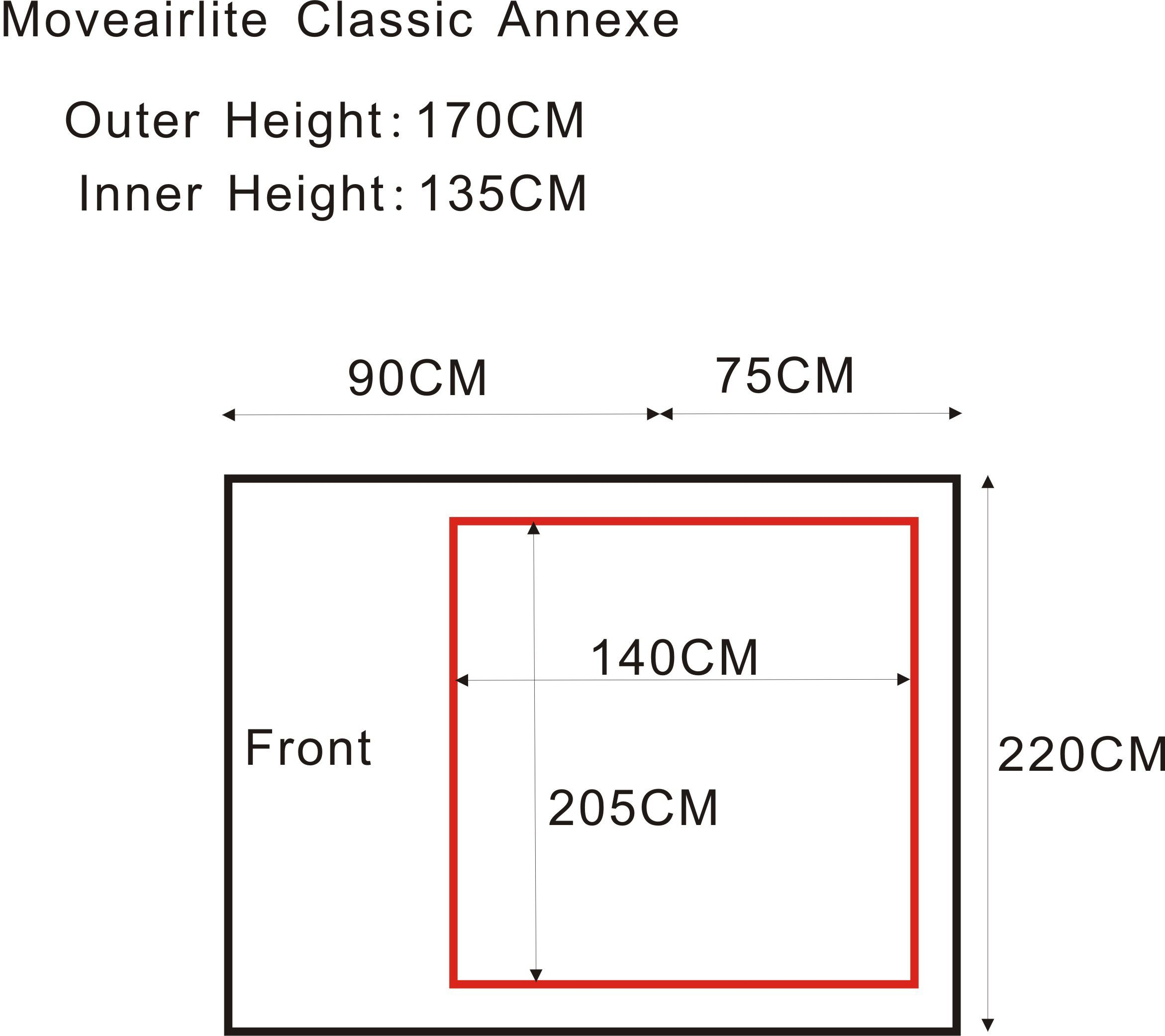 Moveairlite Classic Annexe
