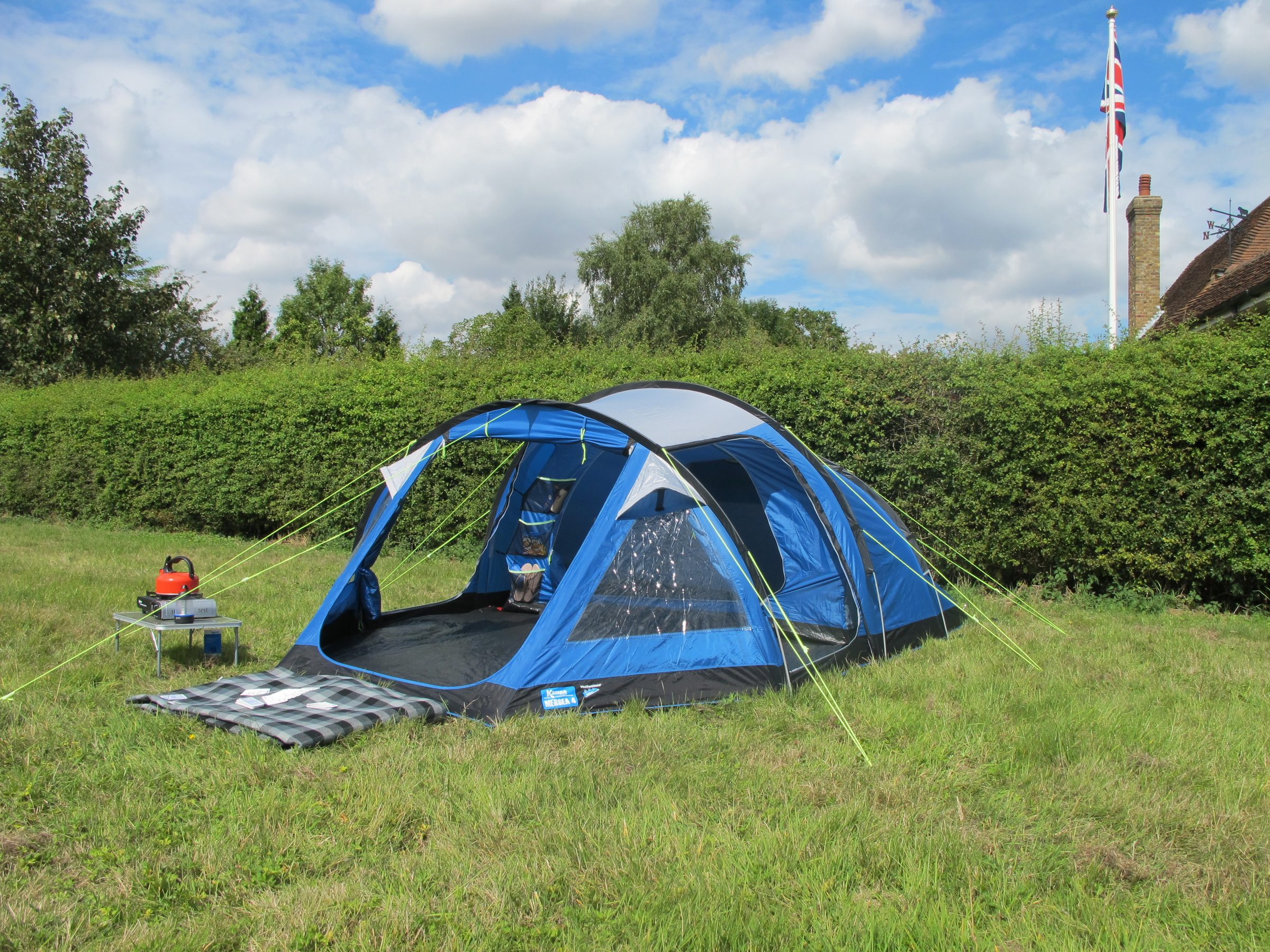 K&a Mersea 4 Tent 2018 & Kampa Mersea 4 Tent 2018 | 4/5 Person Tents | Norwich Camping