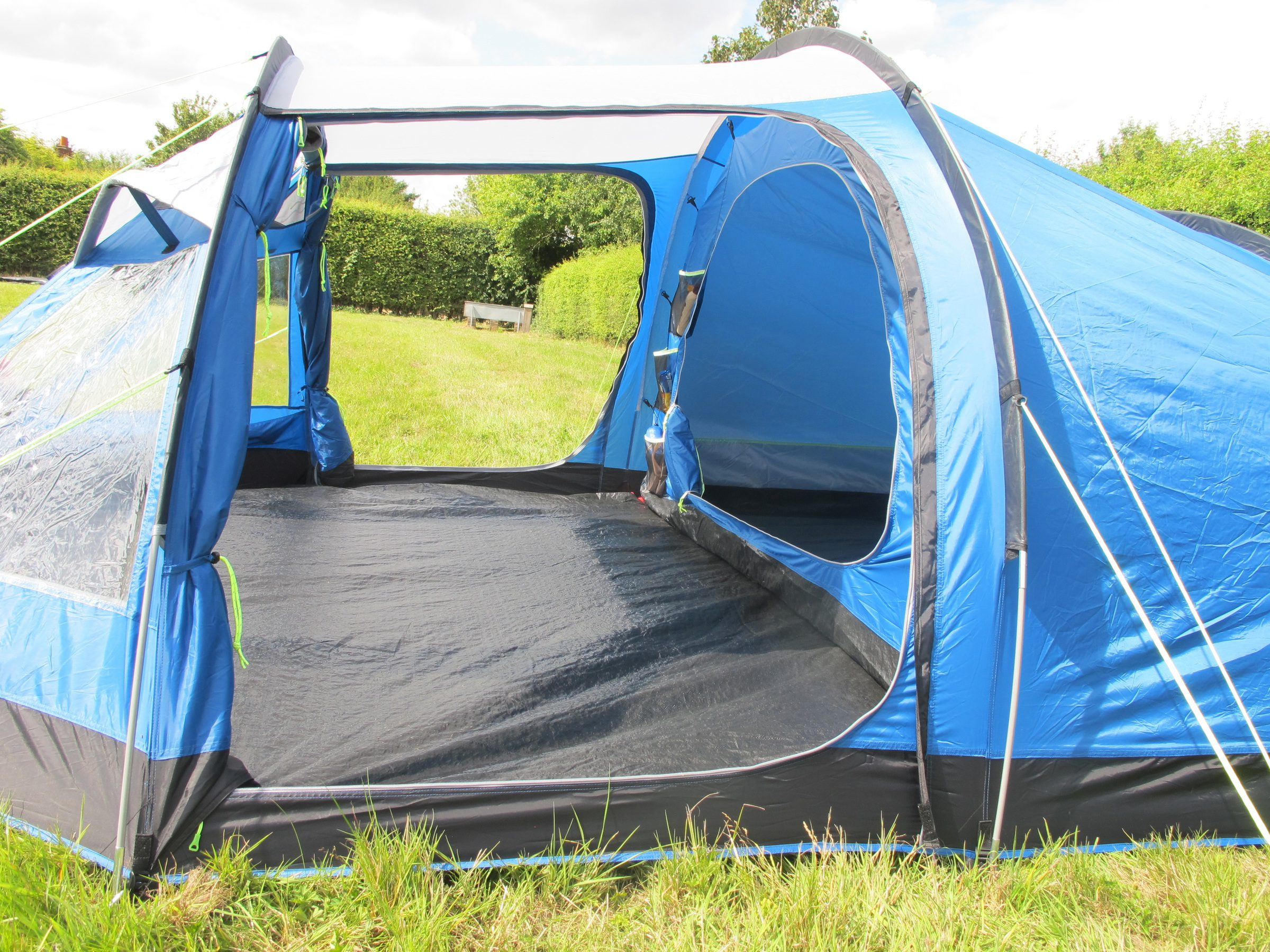 Kampa Mersea 4 tent side