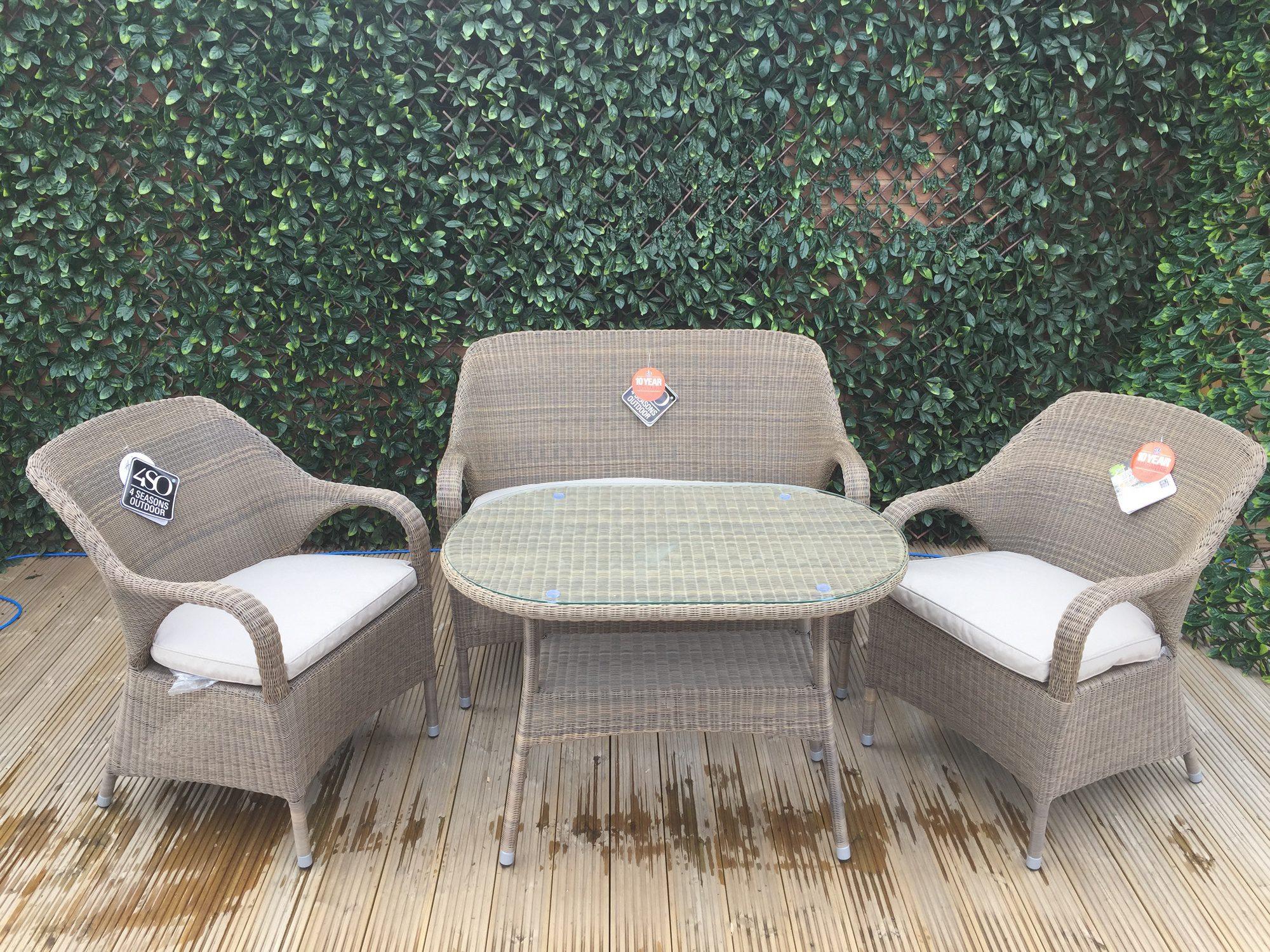 4 Seasons Outdoor Sussex Lounge Set 1