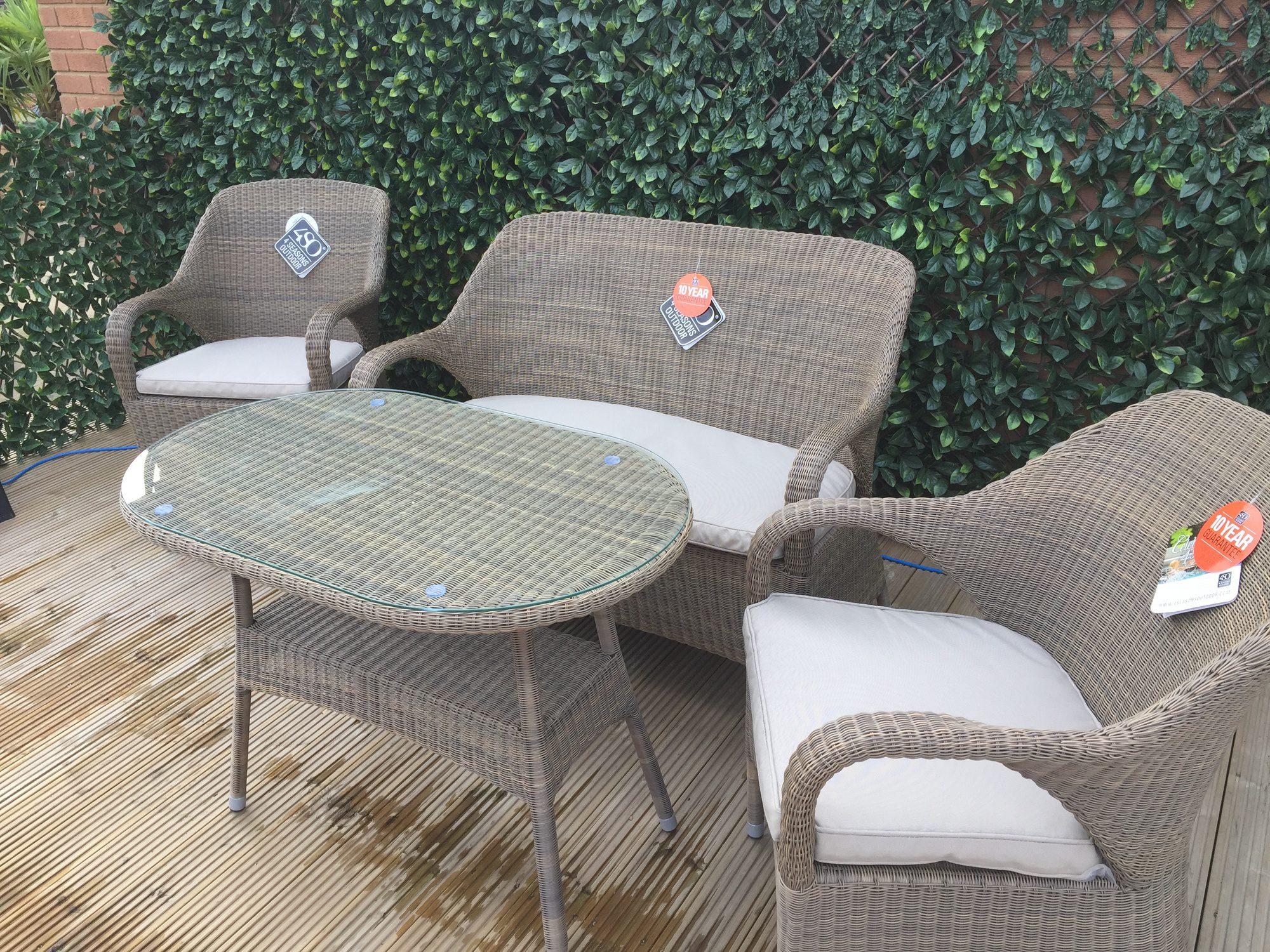 4 Seasons Outdoor Sussex Lounge Set 3