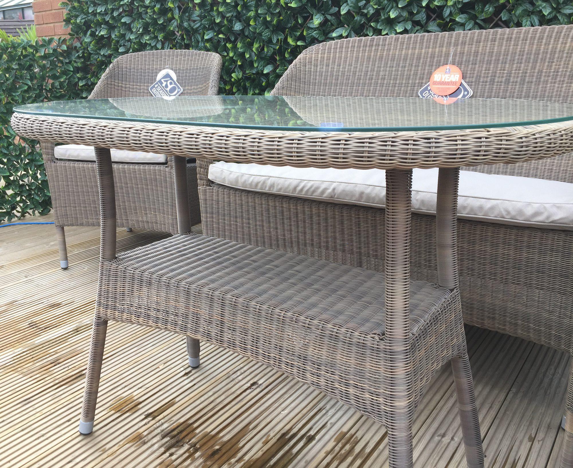 4 Seasons Outdoor Sussex Lounge Set 4