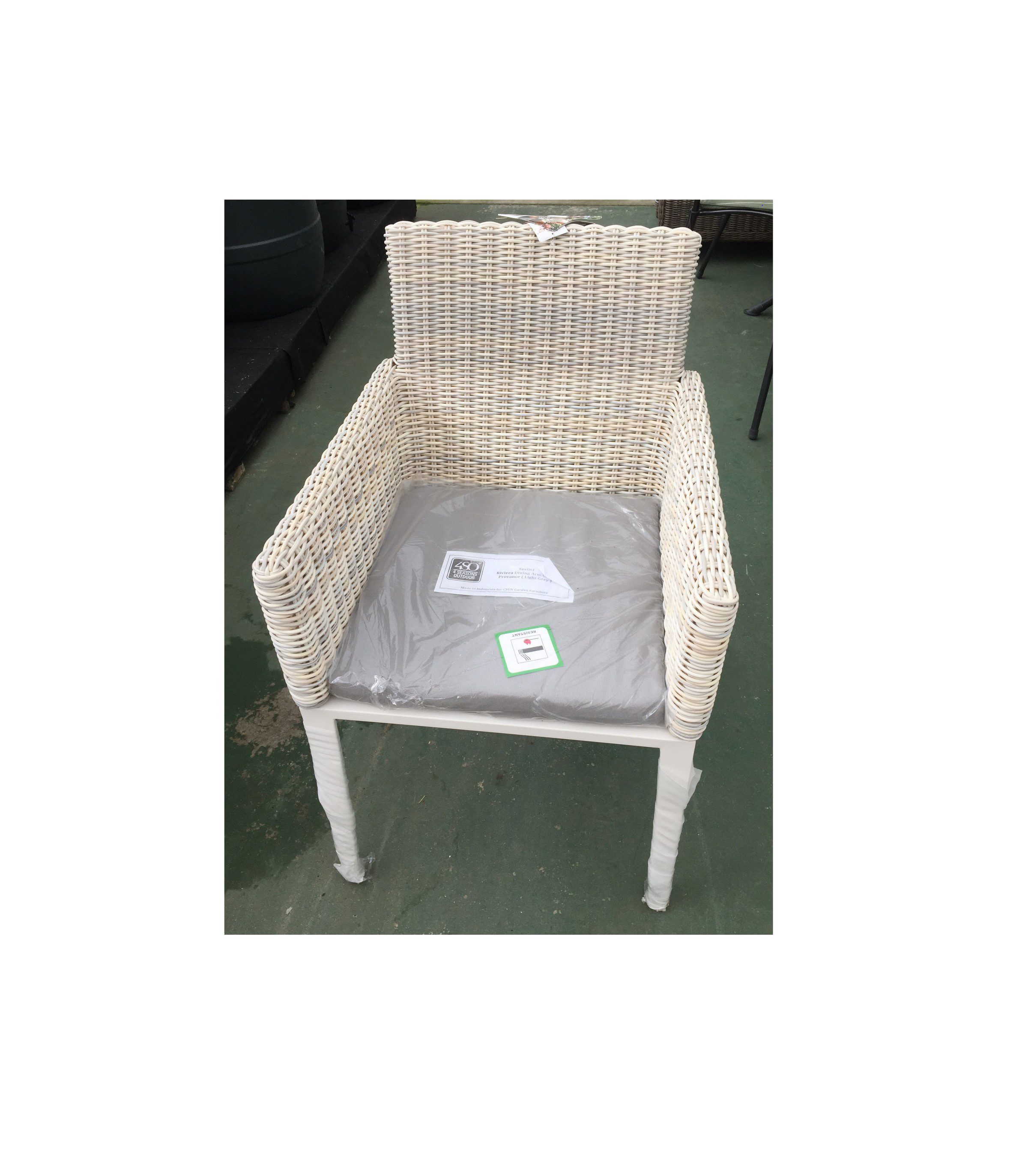 4 Seasons Outdoors Riviera Dining Chair